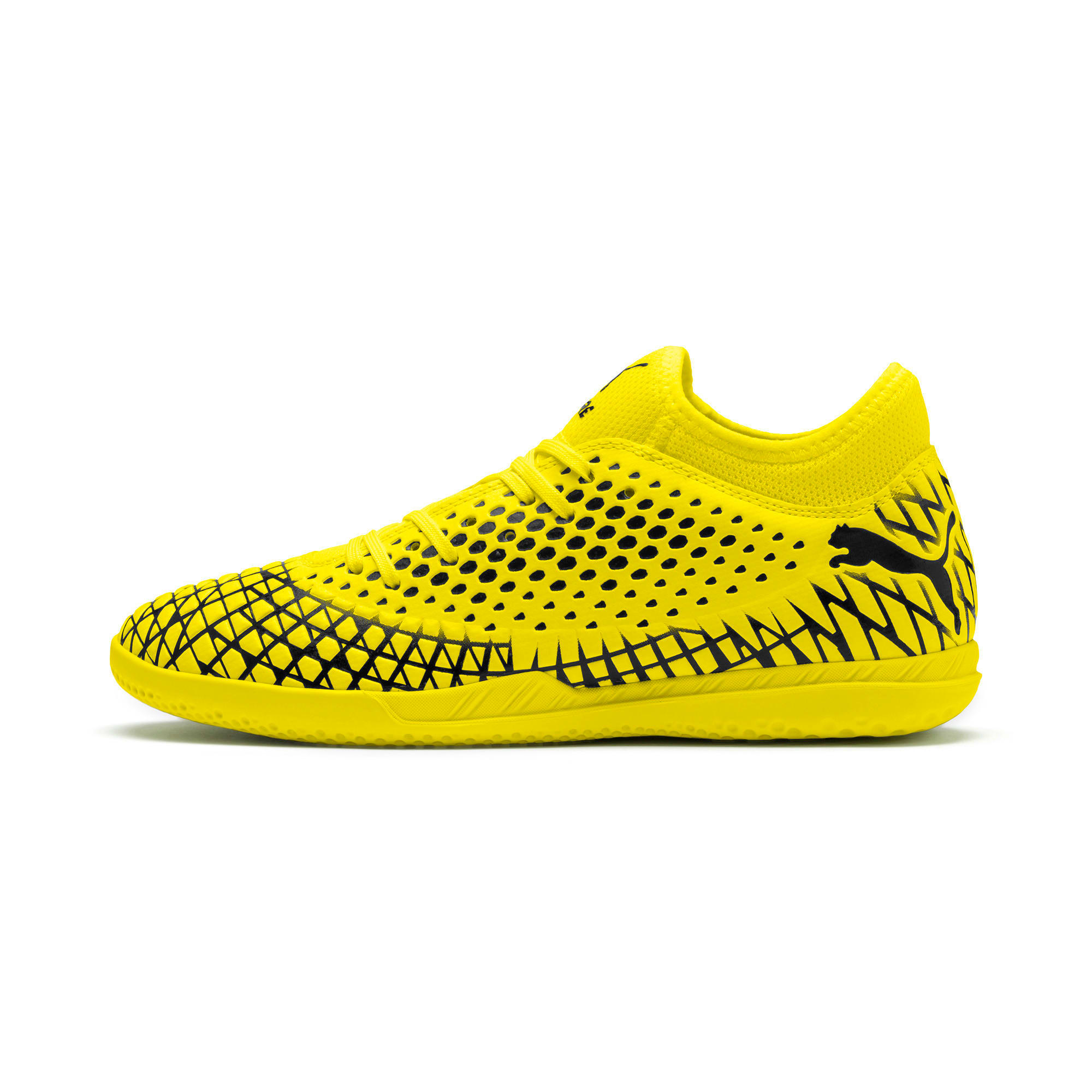 Thumbnail 1 of FUTURE 4.4 IT Men's Football Boots, Yellow Alert-Puma Black, medium