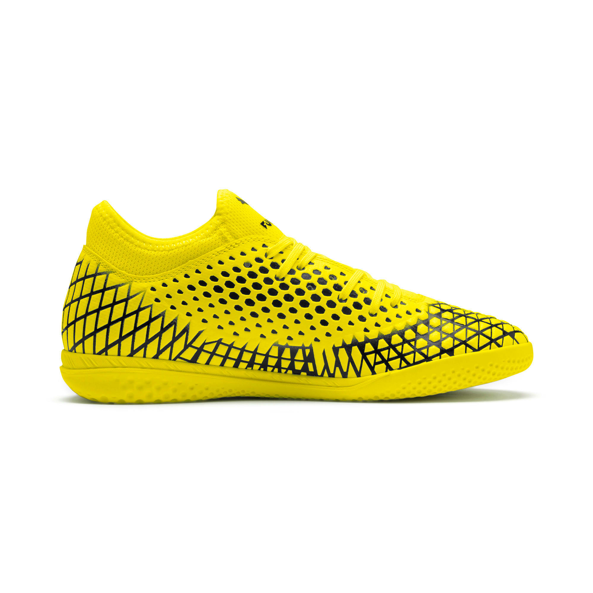 Thumbnail 6 of FUTURE 4.4 IT Men's Football Boots, Yellow Alert-Puma Black, medium