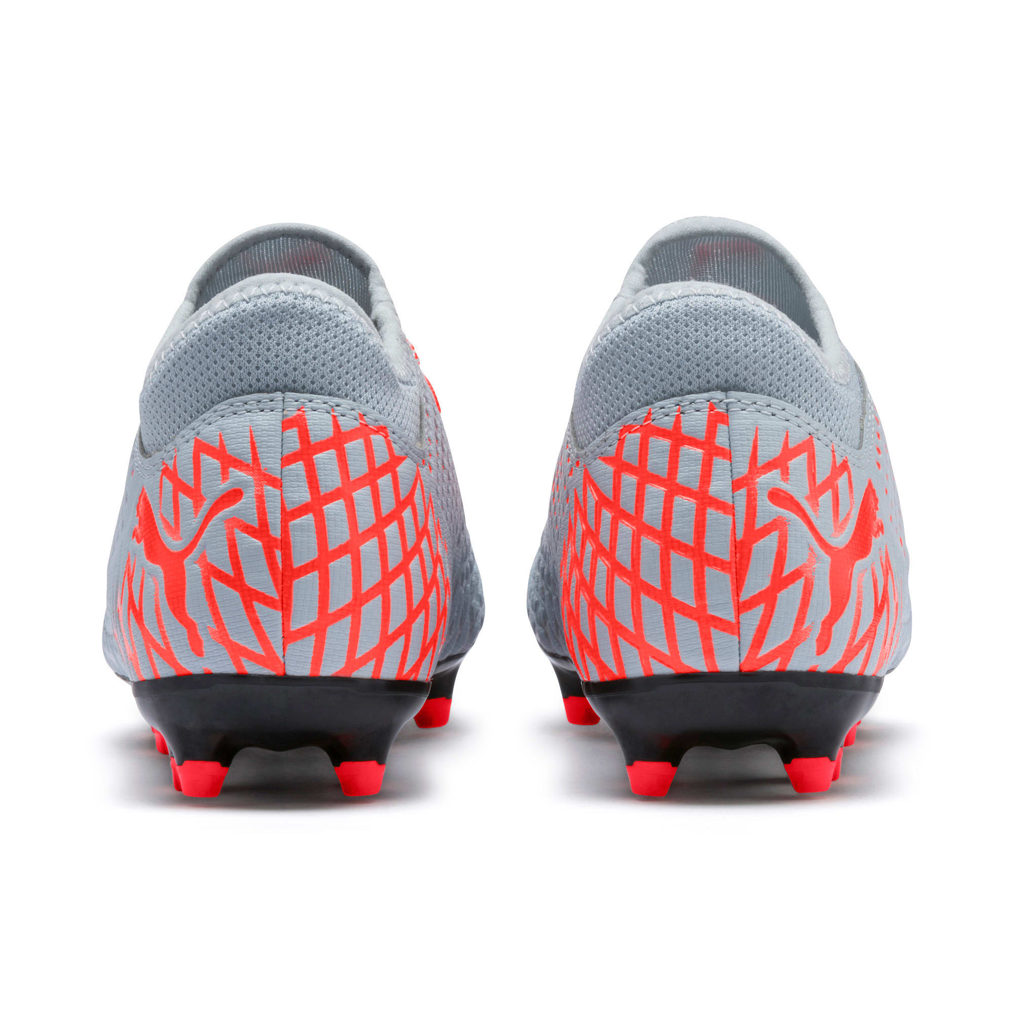 Thumbnail 3 of FUTURE 4.4 Youth Football Boots, Glacial Blue-Nrgy Red, medium-IND
