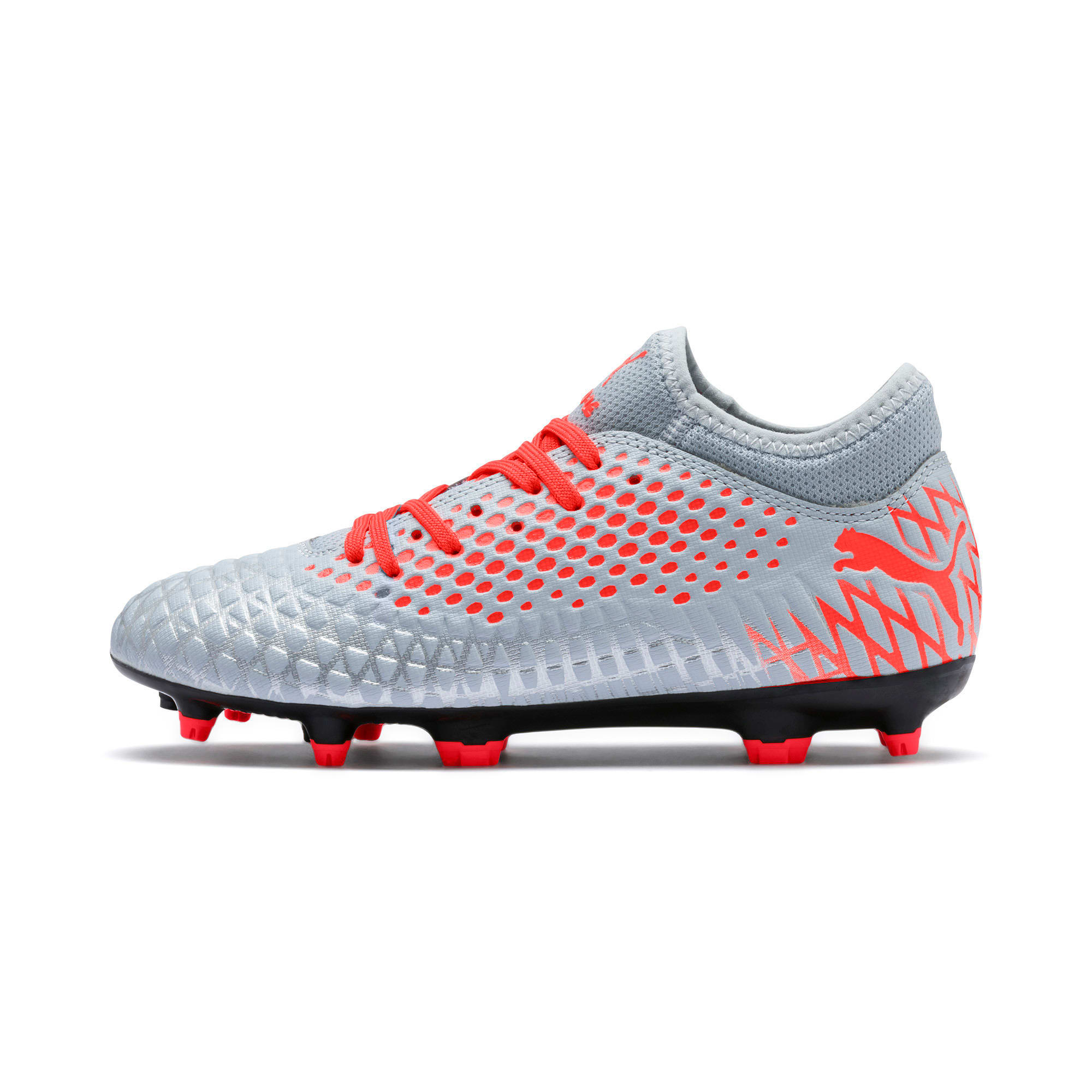 Thumbnail 1 of FUTURE 4.4 Youth Football Boots, Glacial Blue-Nrgy Red, medium