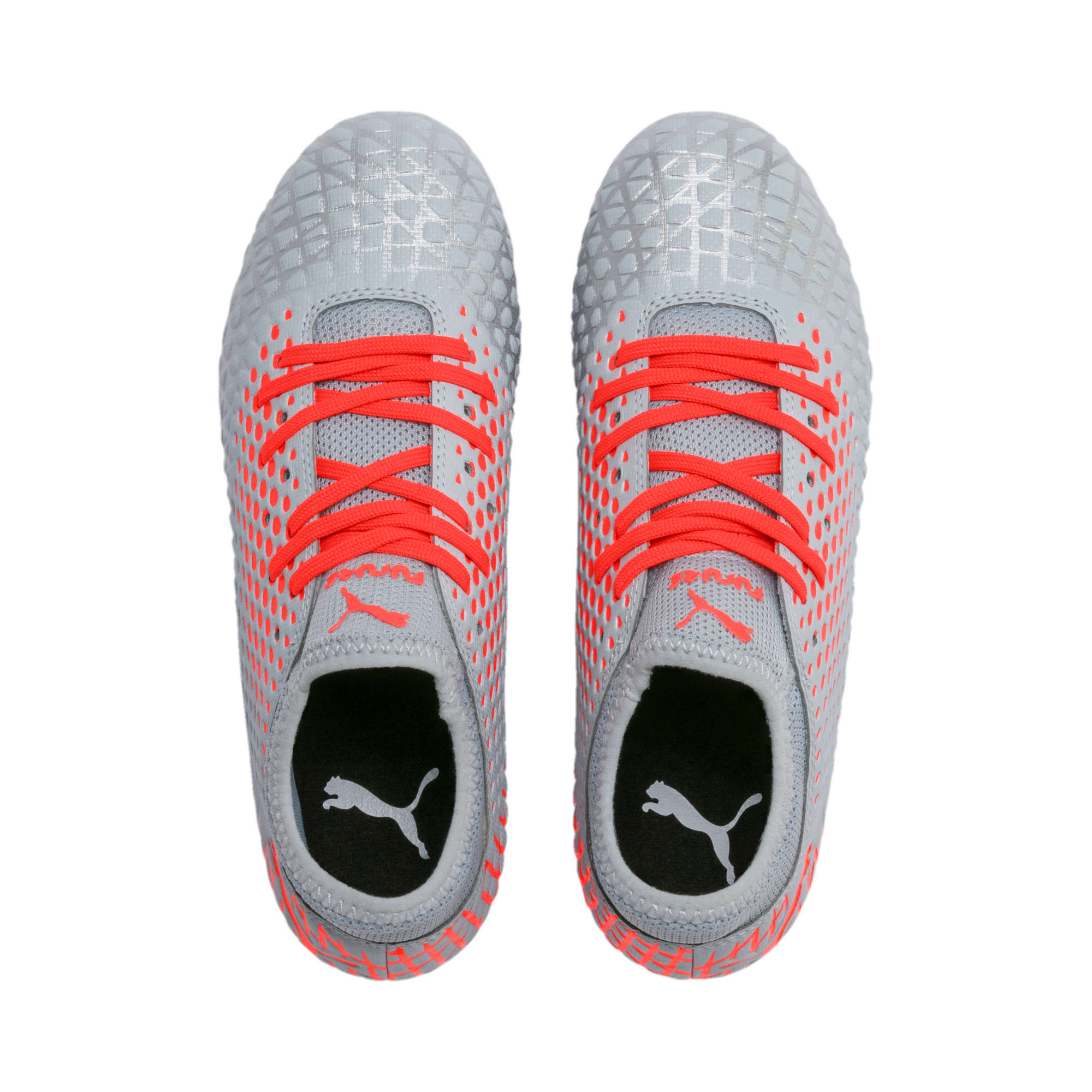 Thumbnail 6 of FUTURE 4.4 Youth Football Boots, Glacial Blue-Nrgy Red, medium-IND
