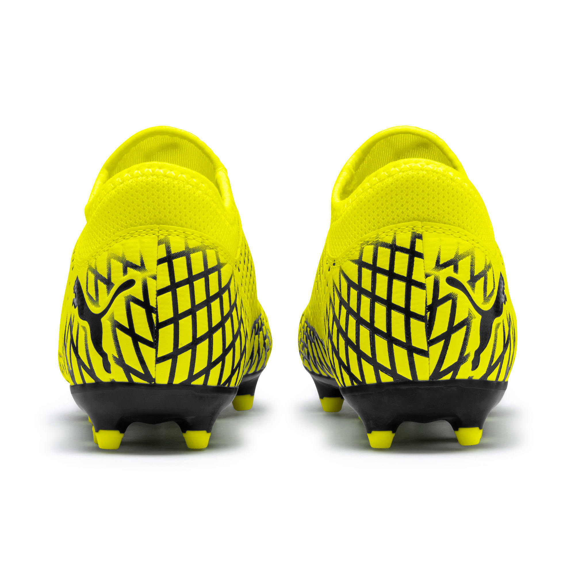 Thumbnail 3 of FUTURE 4.4 Youth Football Boots, Yellow Alert-Puma Black, medium