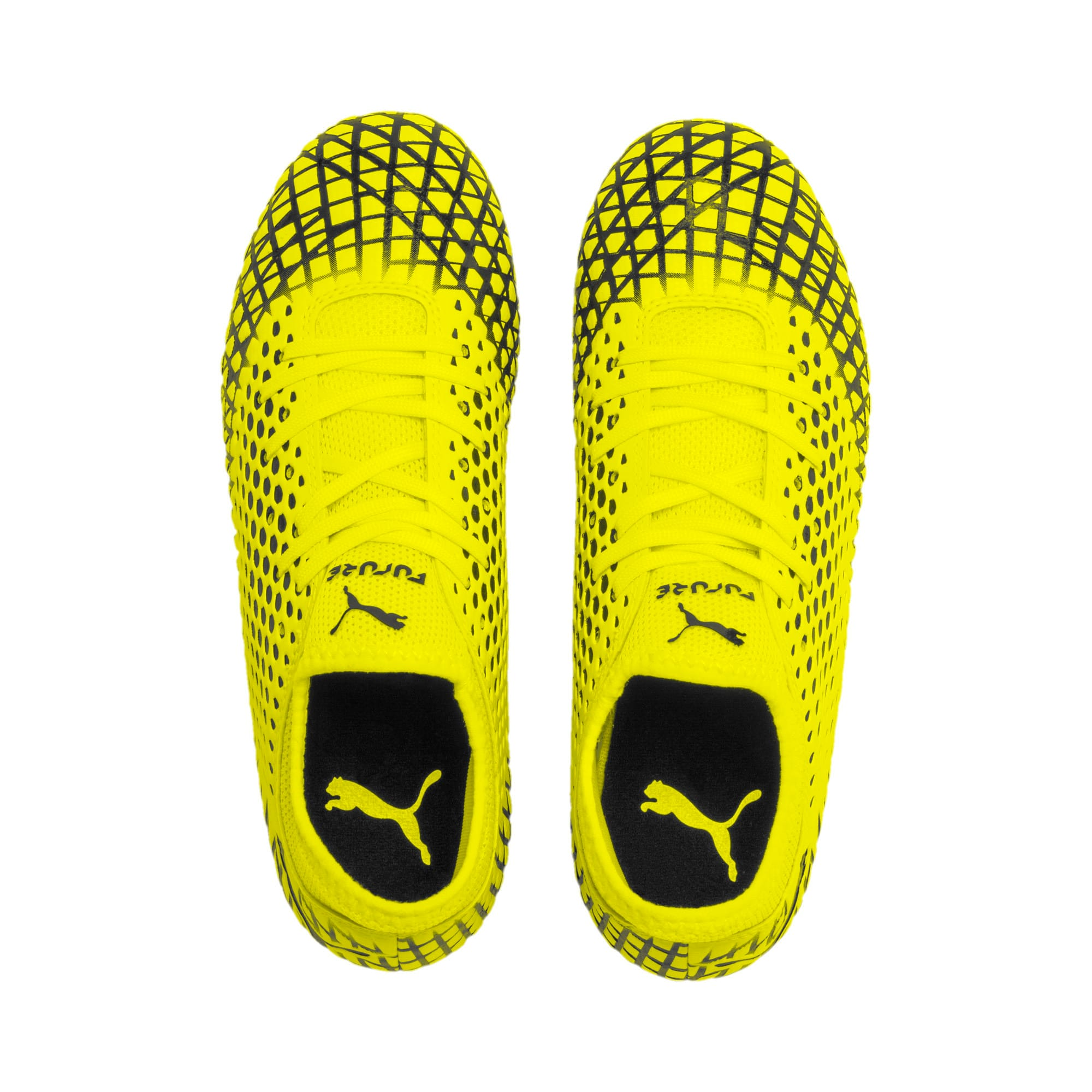 Thumbnail 6 of FUTURE 4.4 Youth Football Boots, Yellow Alert-Puma Black, medium