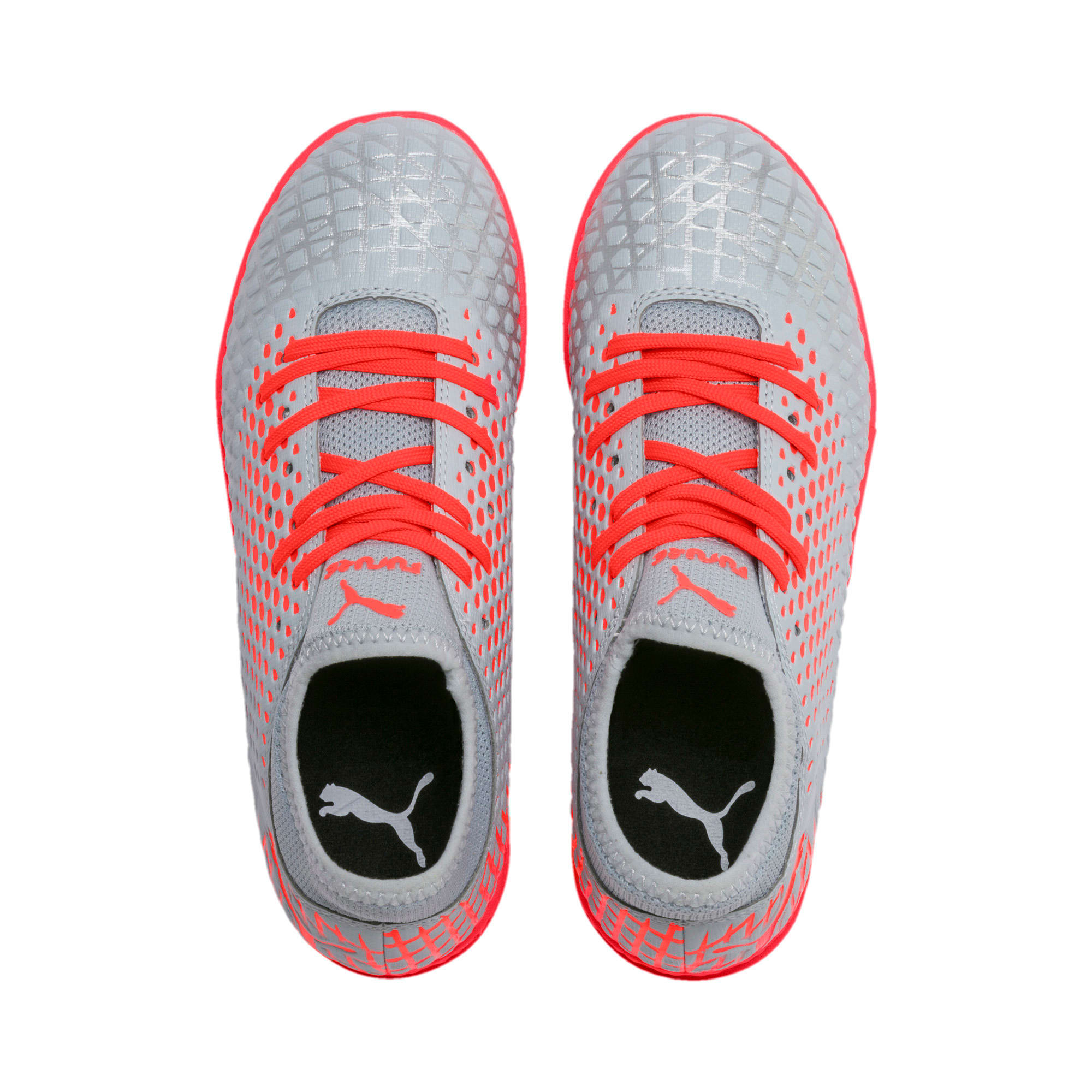 Thumbnail 6 of FUTURE 4.4 TT Youth Football Boots, Glacial Blue-Nrgy Red, medium-IND
