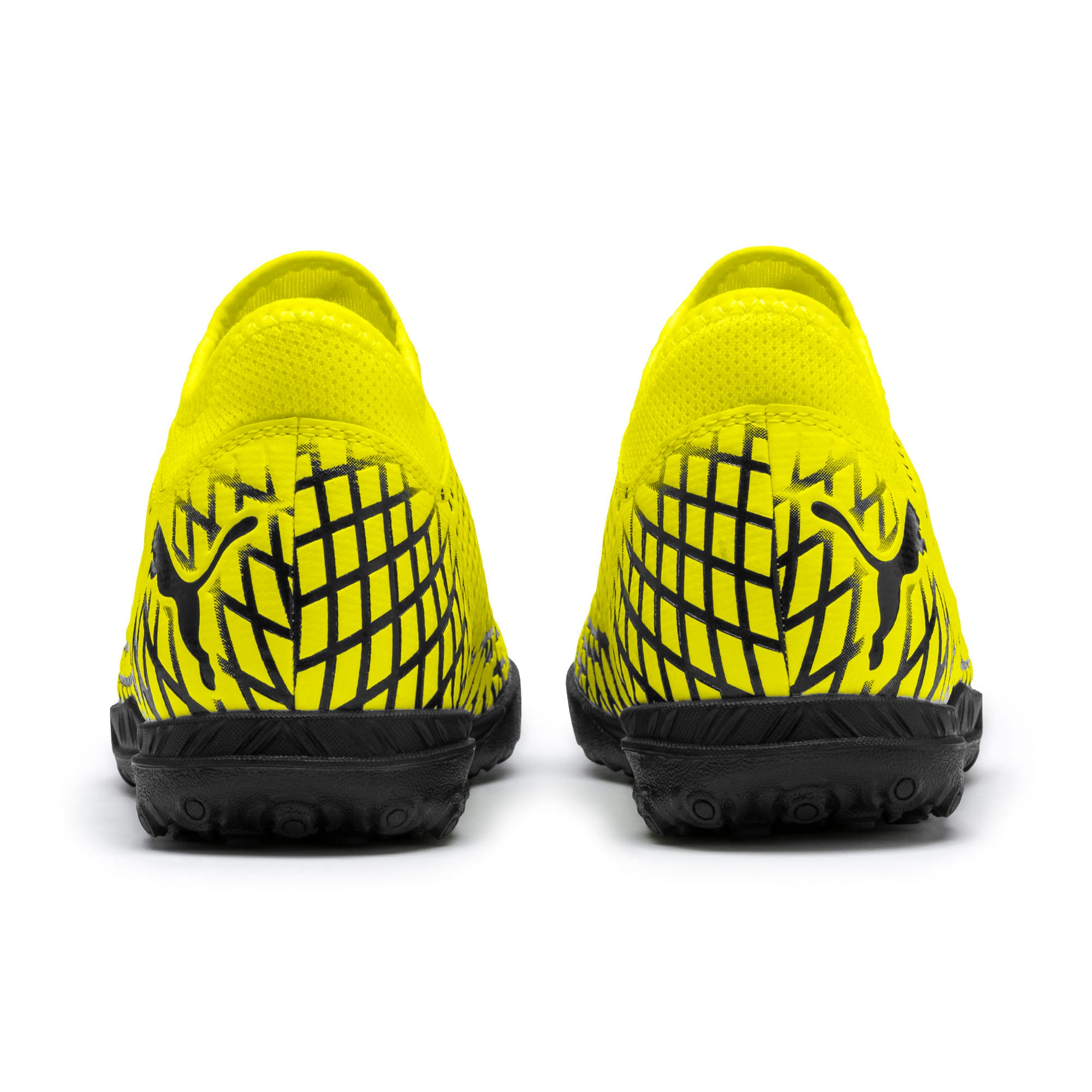 Thumbnail 3 of FUTURE 4.4 TT Youth Football Boots, Yellow Alert-Puma Black, medium