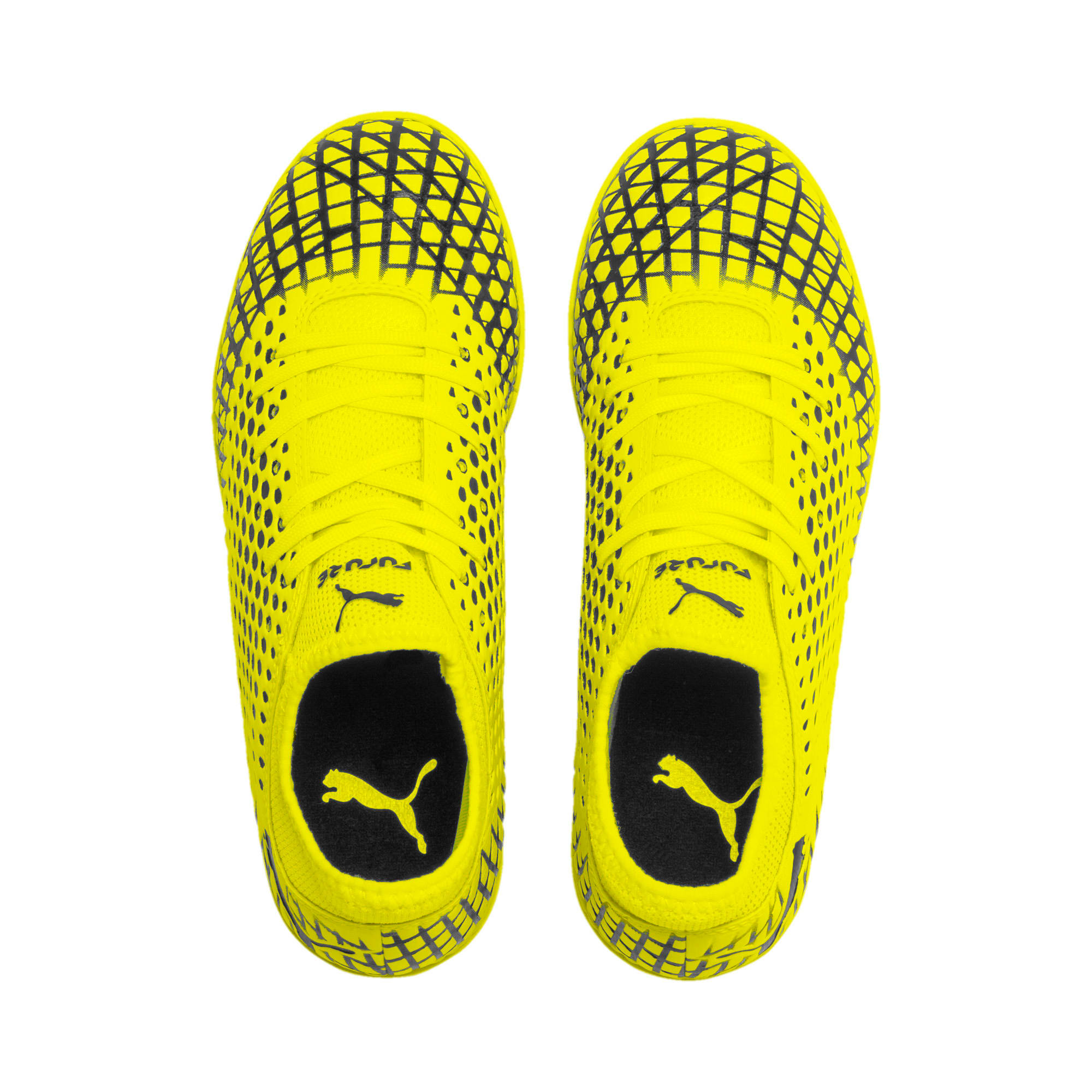 Thumbnail 6 of FUTURE 4.4 IT Youth Football Boots, Yellow Alert-Puma Black, medium