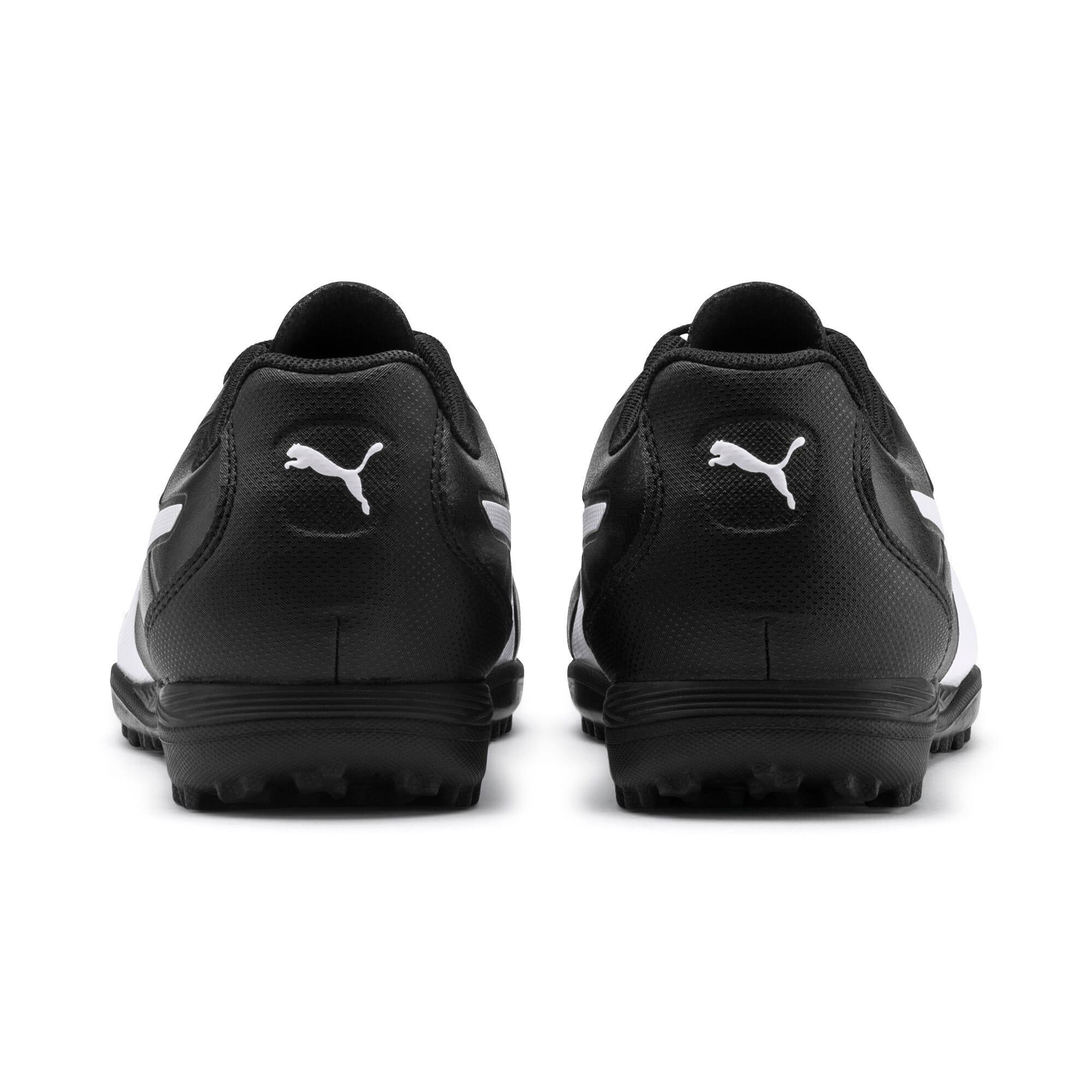 Thumbnail 4 of Monarch TT Youth Football Boots, Puma Black-Puma White, medium-IND
