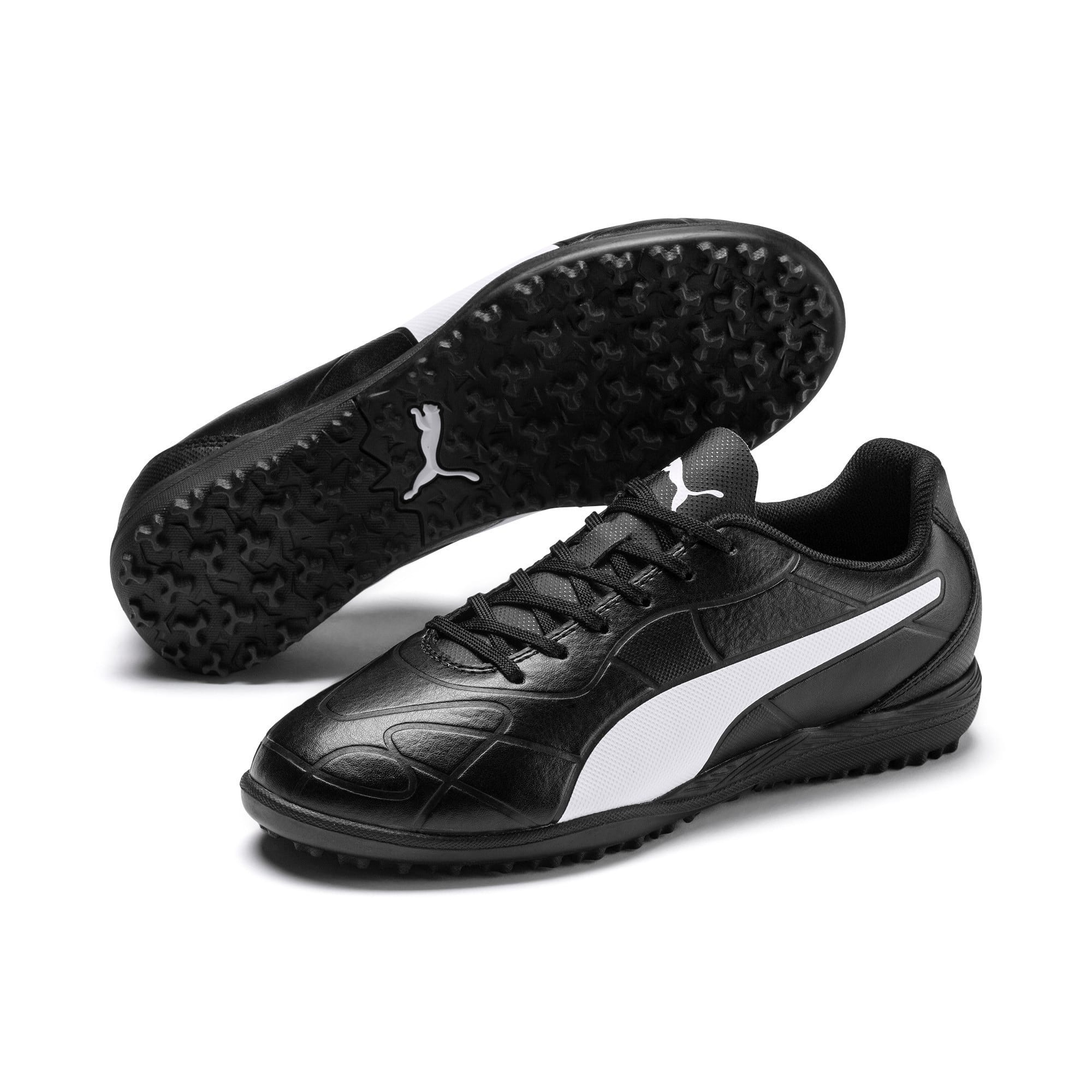 Thumbnail 6 of Monarch TT Youth Football Boots, Puma Black-Puma White, medium-IND