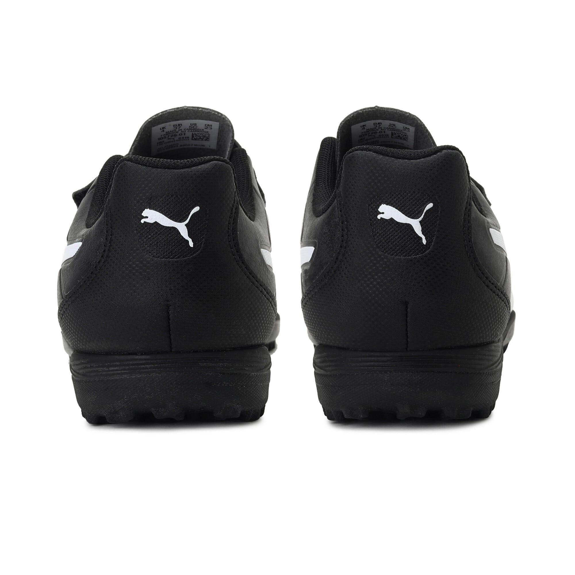Thumbnail 3 of Monarch TT Youth Football Boots, Puma Black-Puma White, medium-IND