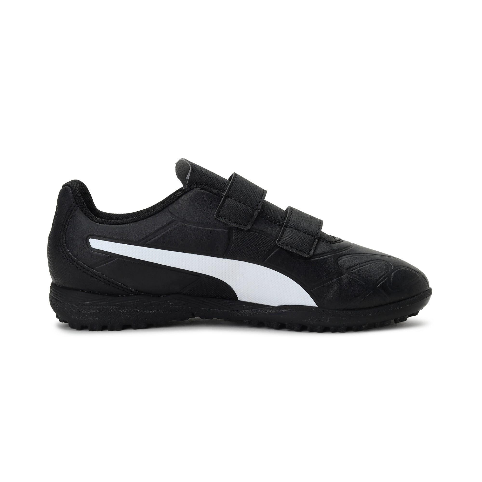 Thumbnail 5 of Monarch TT Youth Football Boots, Puma Black-Puma White, medium-IND