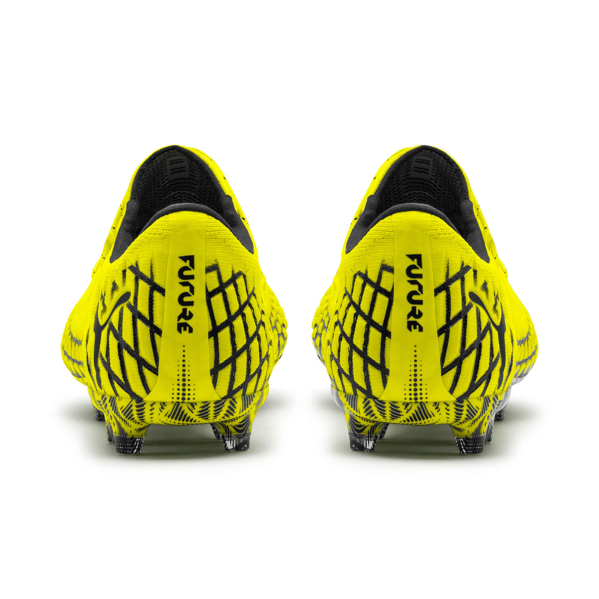 Thumbnail 3 of FUTURE 4.1 NETFIT Low Herren Fußballschuhe, Yellow Alert-Puma Black, medium