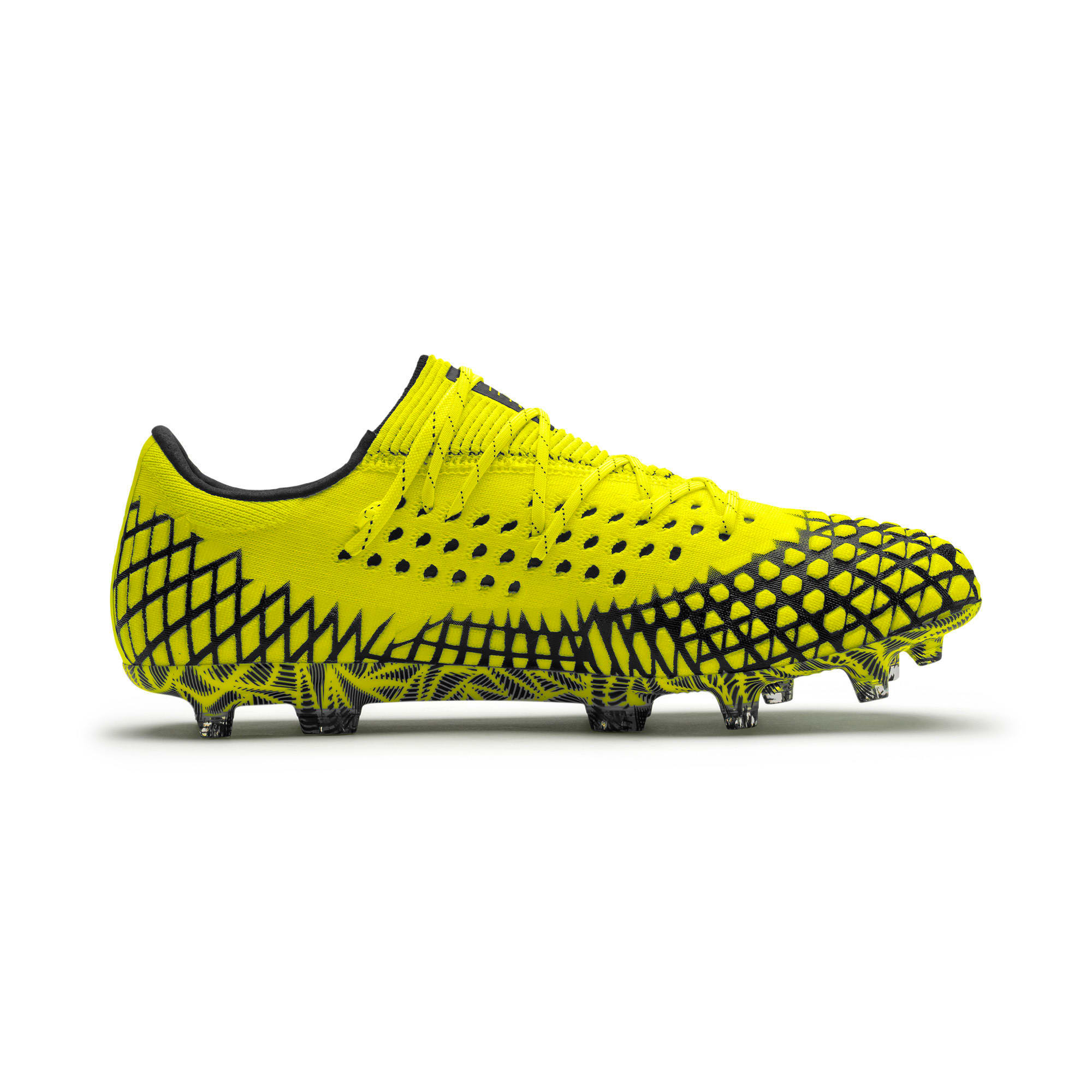 Thumbnail 5 of FUTURE 4.1 NETFIT Low Herren Fußballschuhe, Yellow Alert-Puma Black, medium