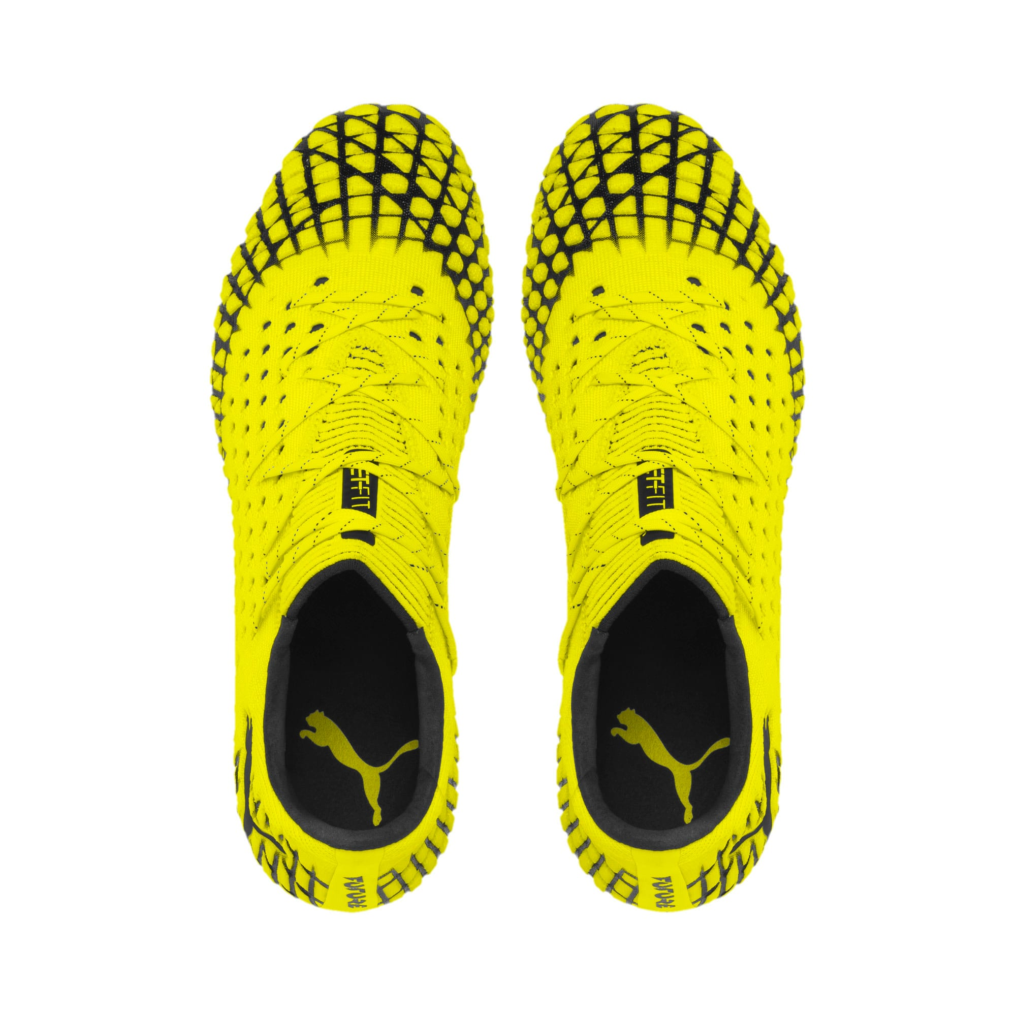 Thumbnail 6 of FUTURE 4.1 NETFIT Low Herren Fußballschuhe, Yellow Alert-Puma Black, medium