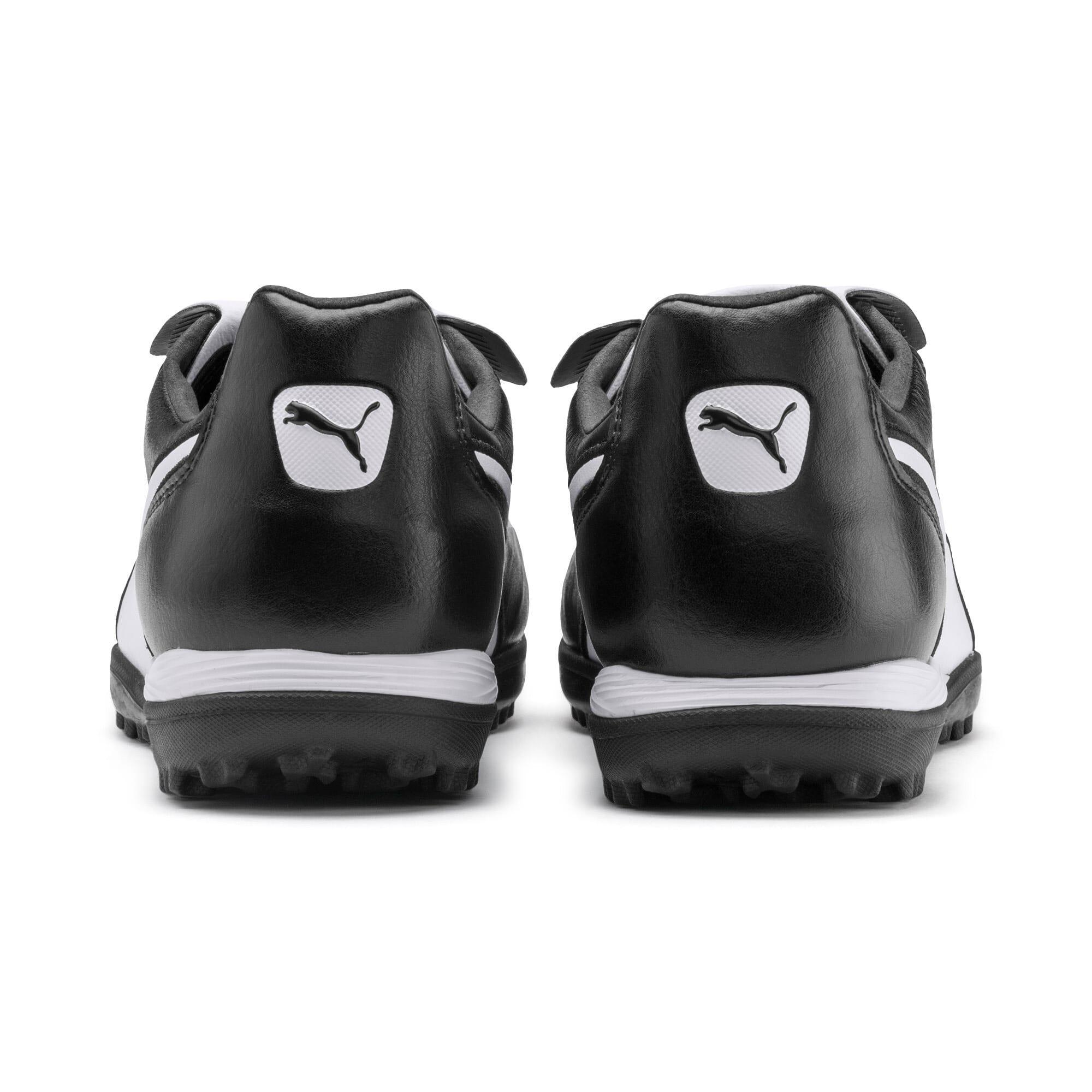 Thumbnail 4 of King Top TT Soccer Shoes, Puma Black-Puma White, medium