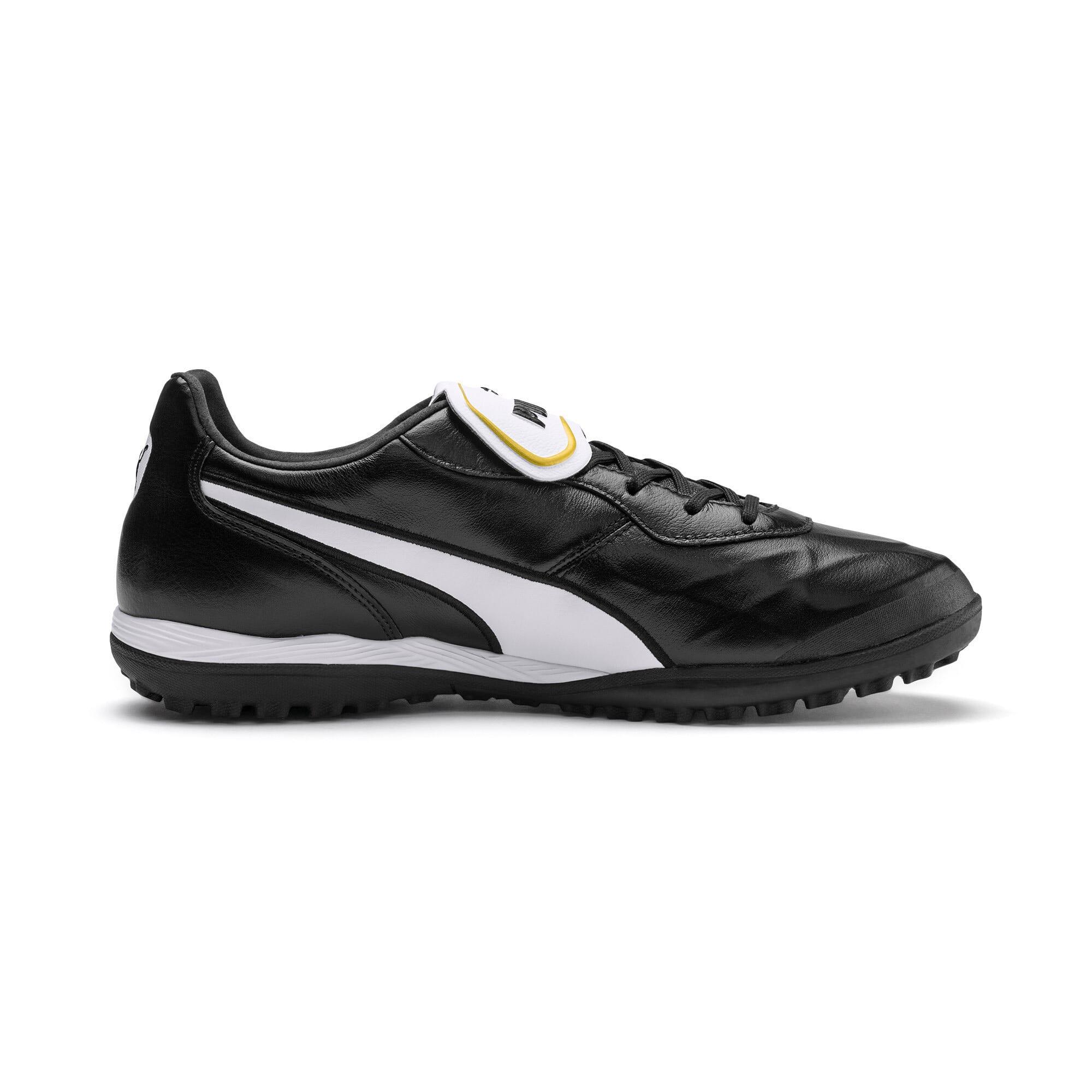 Thumbnail 6 of King Top TT Soccer Shoes, Puma Black-Puma White, medium