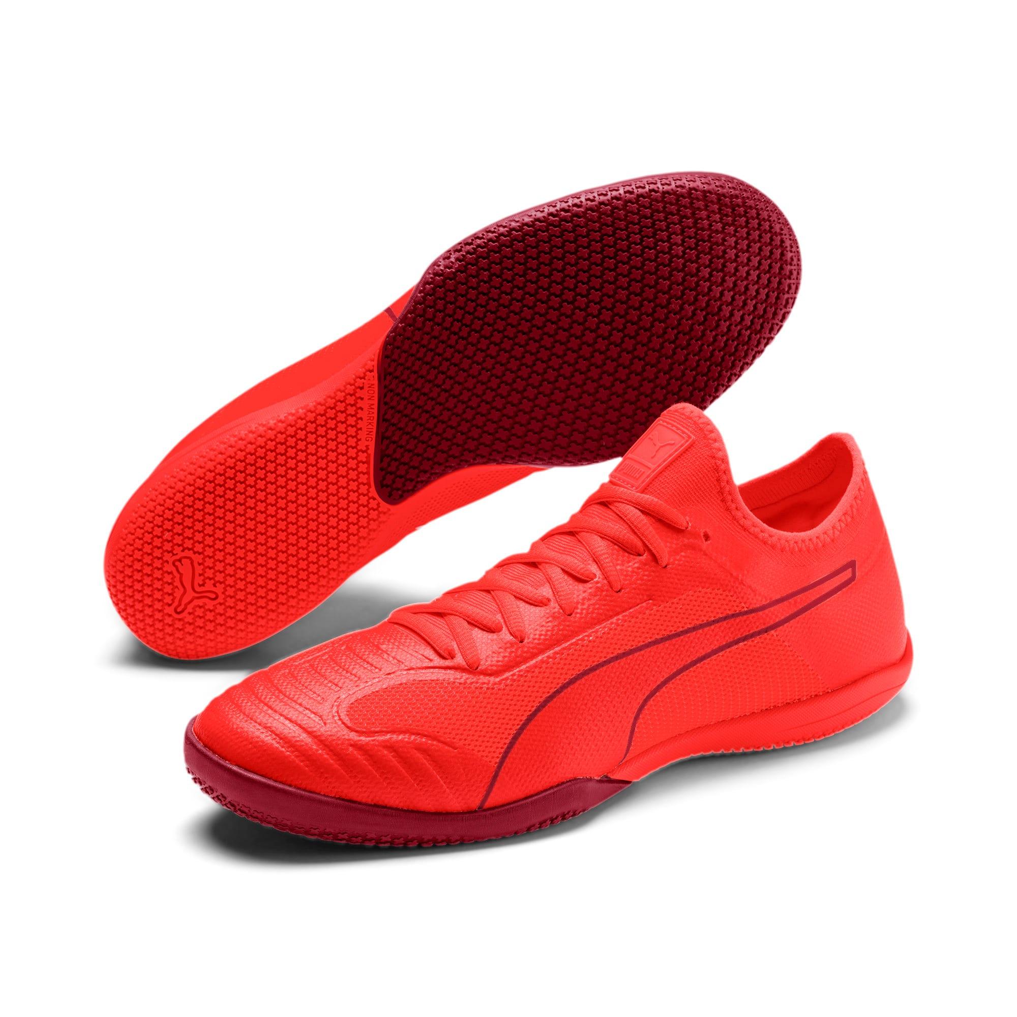 Thumbnail 2 of 365 Sala 1 Men's Soccer Shoes, Nrgy Red-Rhubarb, medium