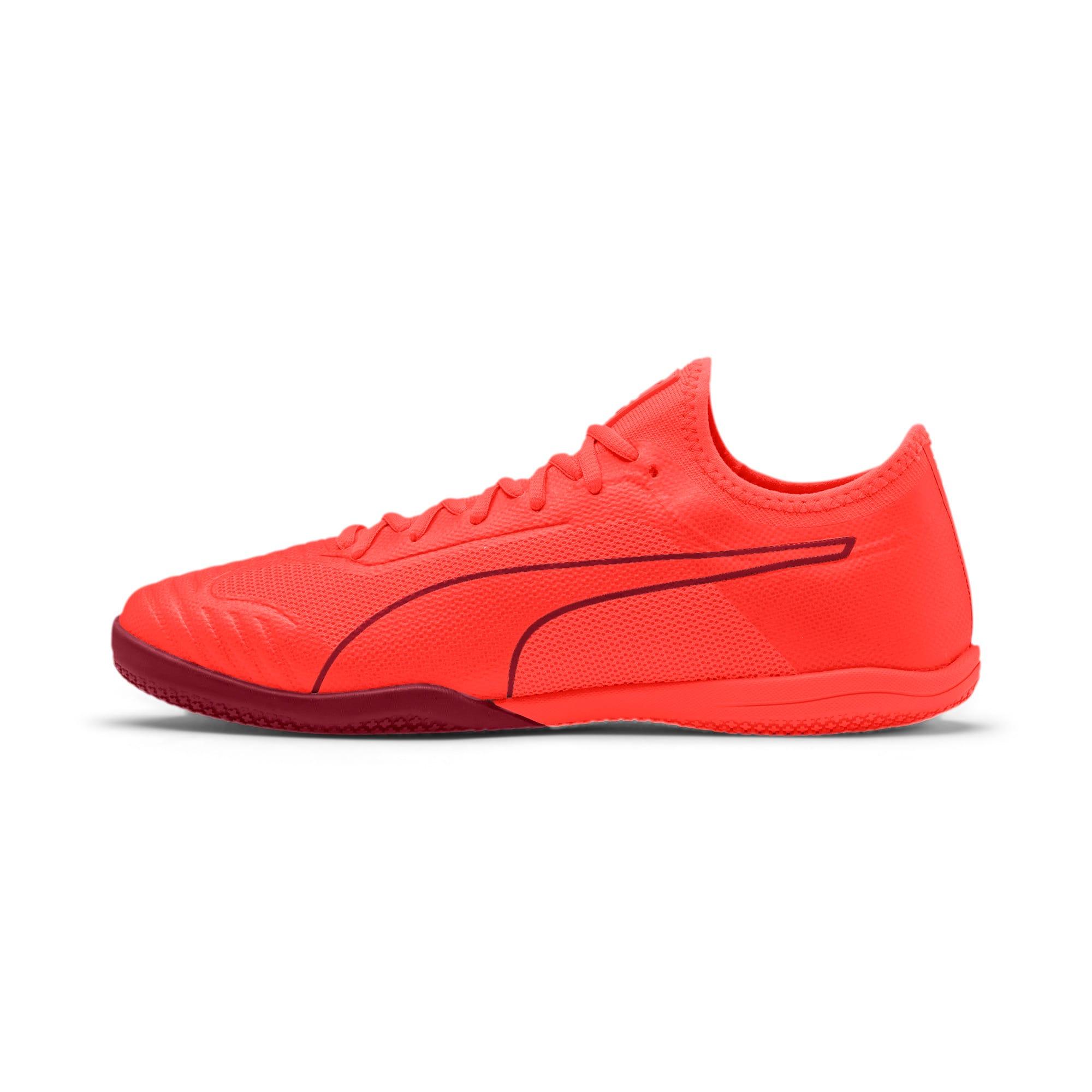 Thumbnail 1 of 365 Sala 1 Men's Soccer Shoes, Nrgy Red-Rhubarb, medium