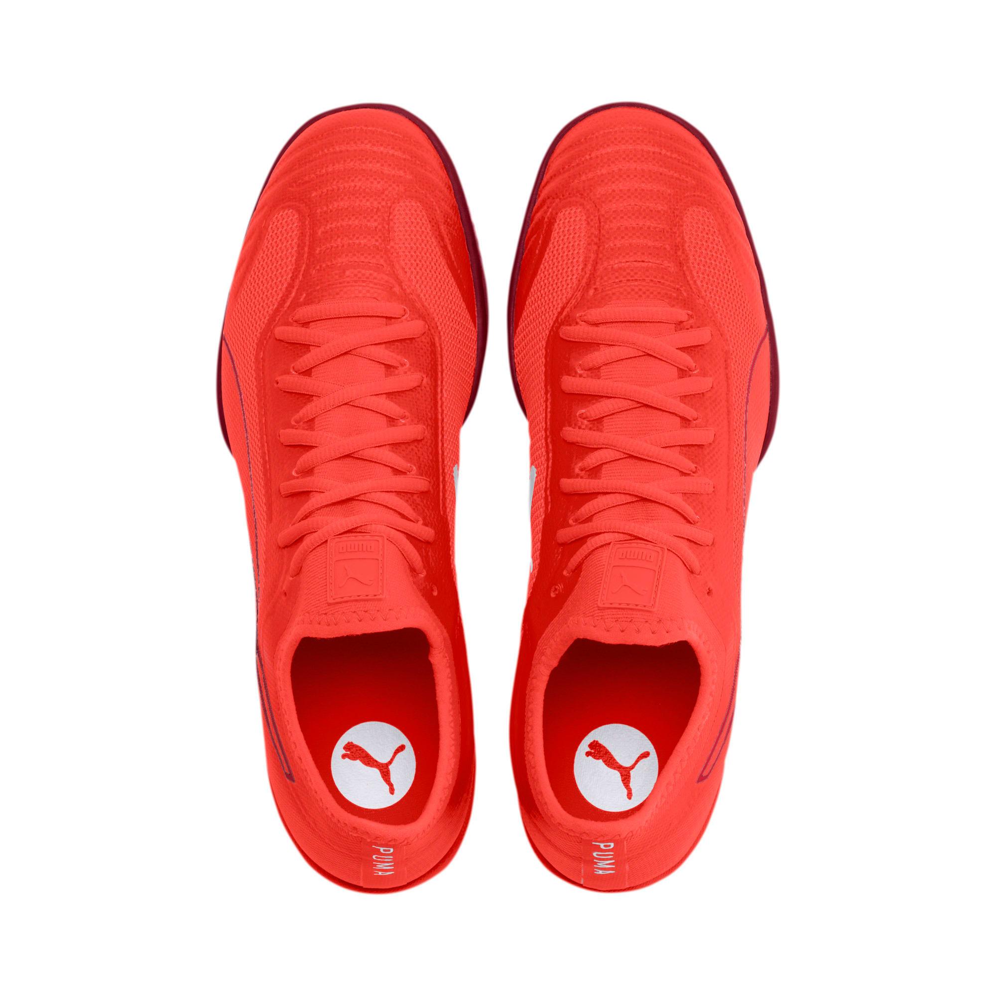 Thumbnail 7 of 365 Sala 1 Men's Soccer Shoes, Nrgy Red-Rhubarb, medium