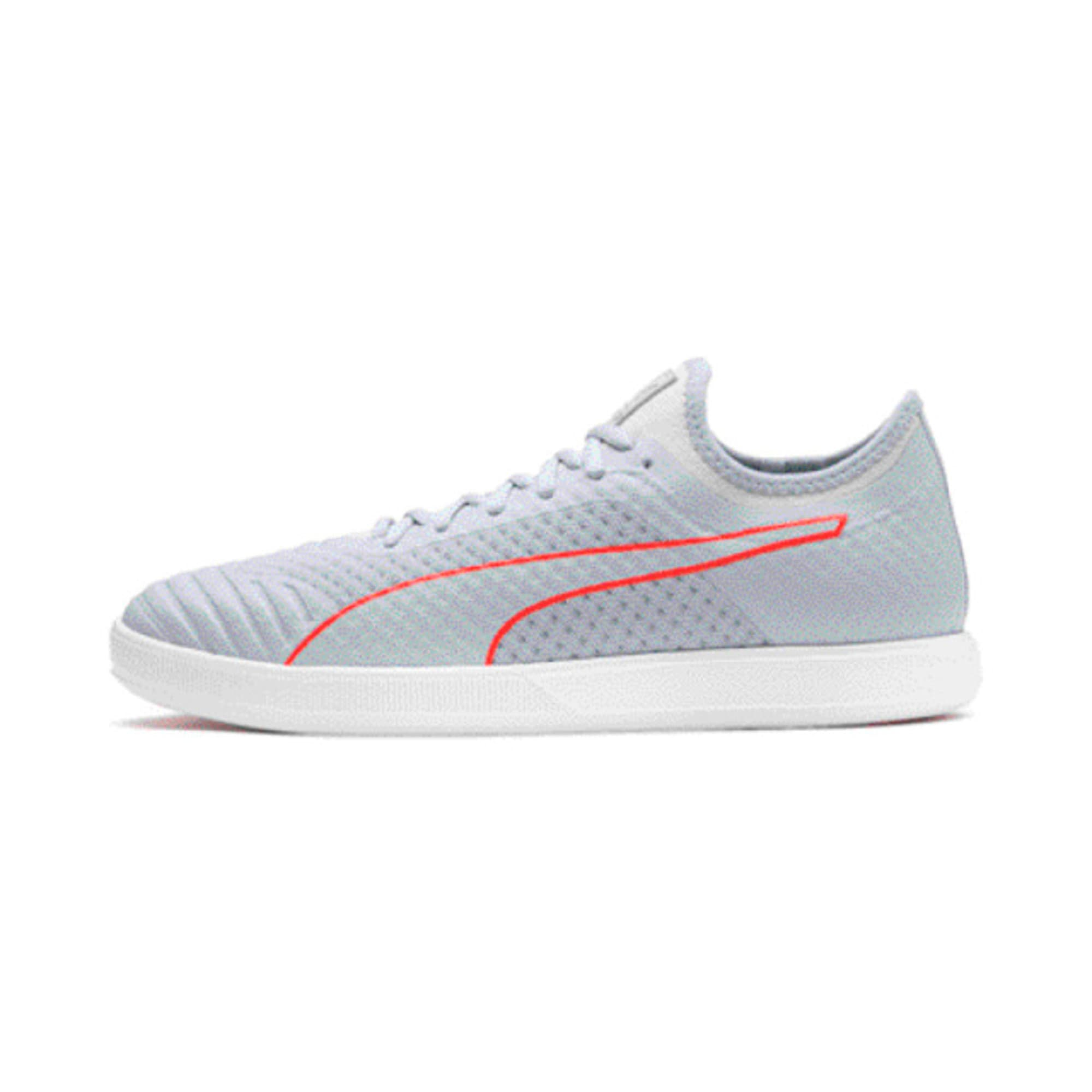 Thumbnail 1 of 365 Concrete Lite Football Boots, Grey Dawn-White-Nrgy Red, medium-IND