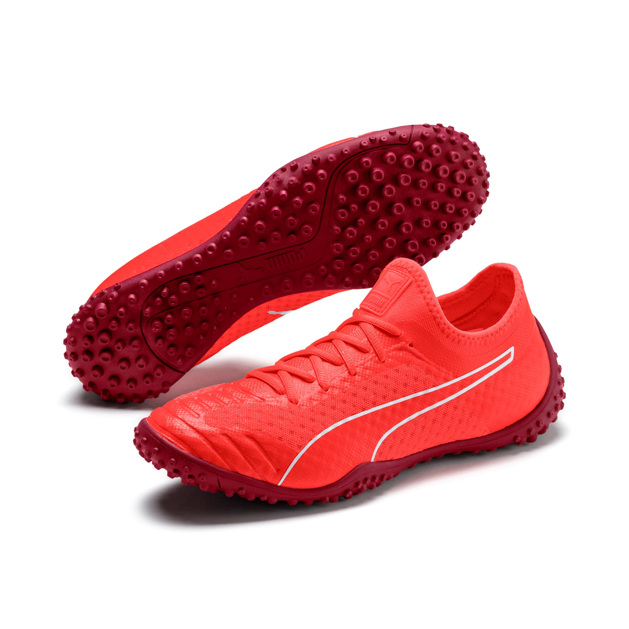 Thumbnail 2 of 365 Concrete 2 ST Men's Soccer Shoes, Nrgy Red-Rhubarb, medium
