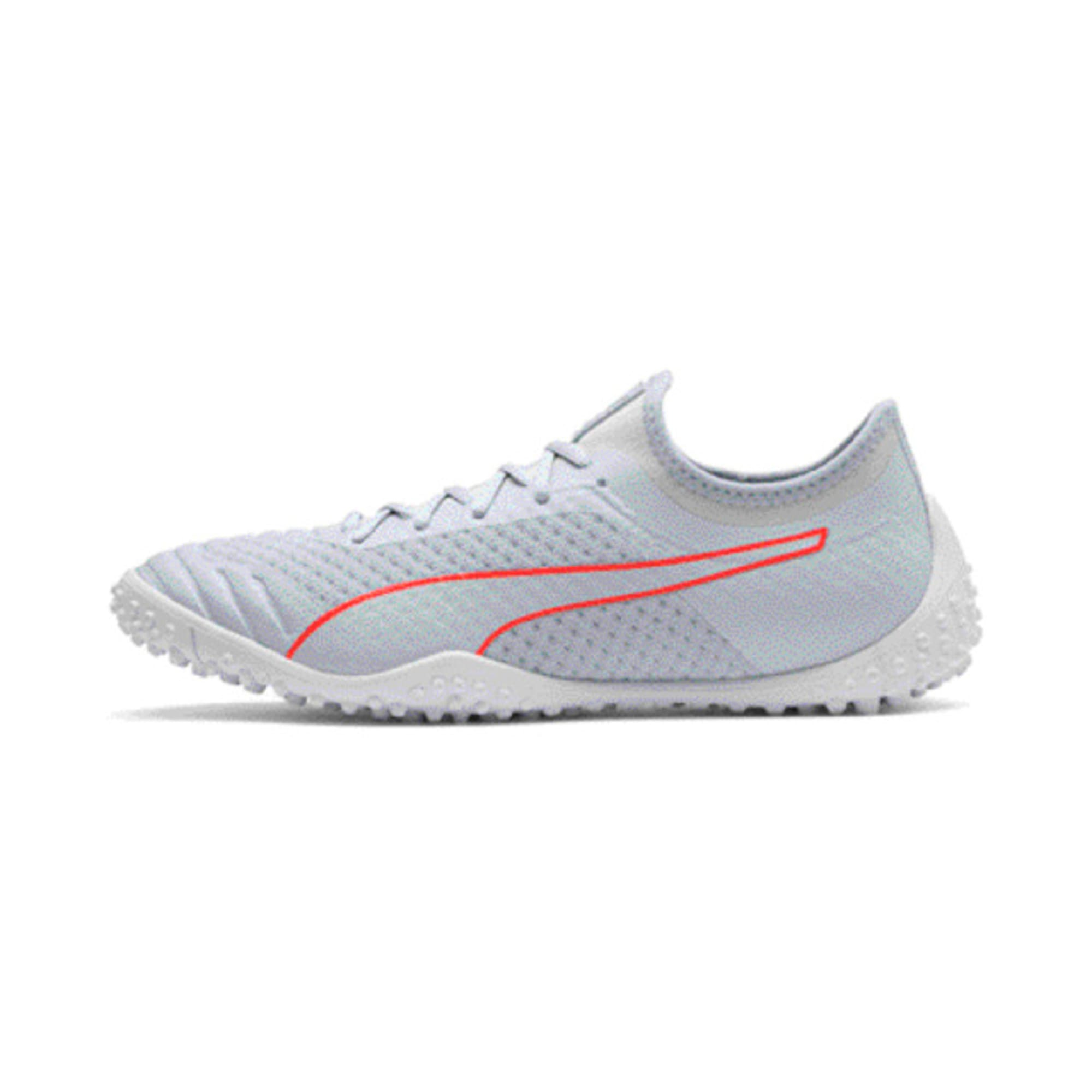 Thumbnail 1 of 365 Concrete 2 Men's Football Boots, Grey Dawn-Nrgy Red-White, medium-IND