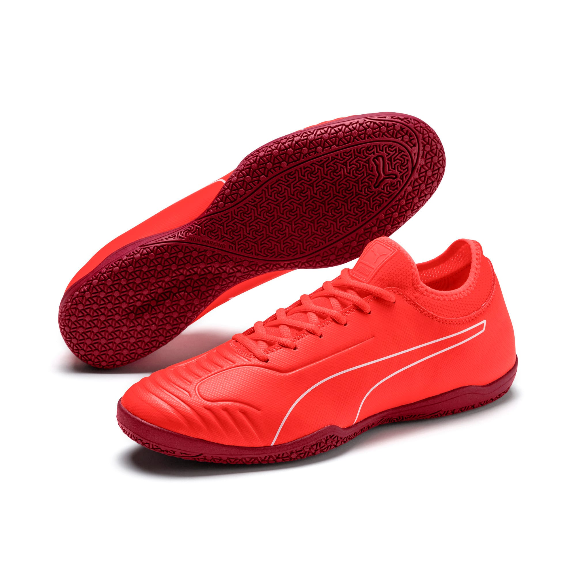 Thumbnail 2 of 365 Sala 2 Men's Soccer Shoes, Nrgy Red-Rhubarb, medium