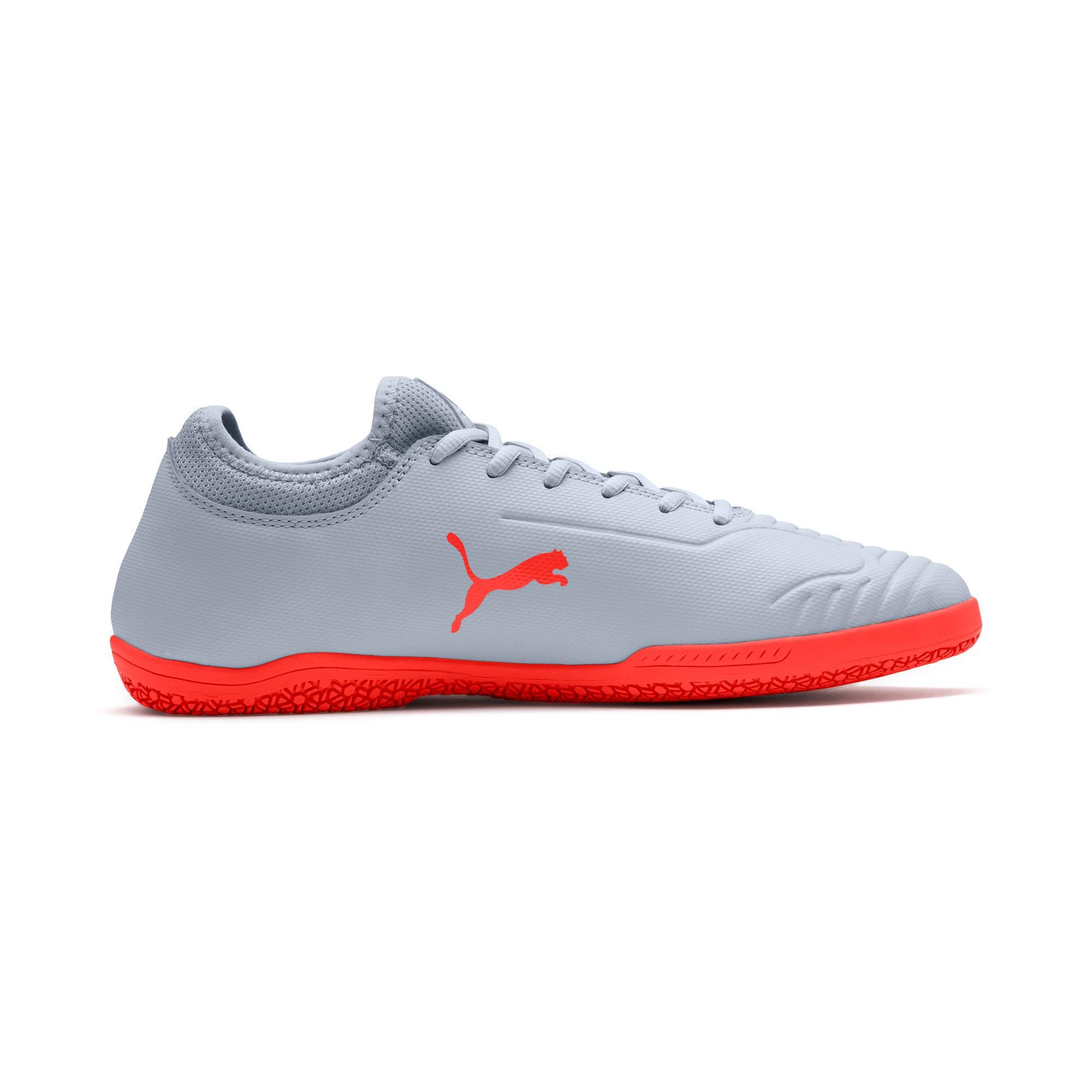 Thumbnail 6 of 365 Sala 2 Men's Soccer Shoes, Grey Dawn-Nrgy Red, medium