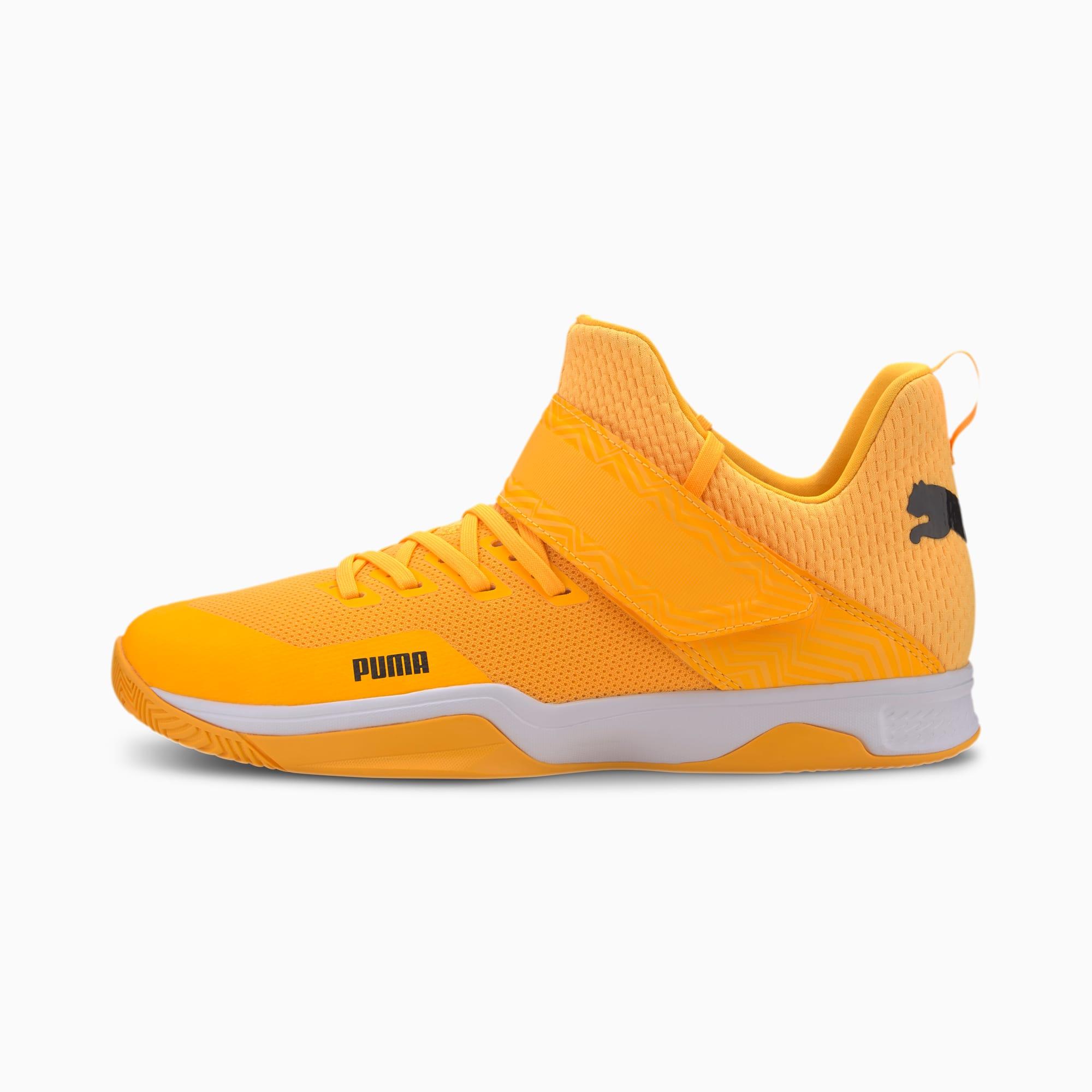 puma basket orange