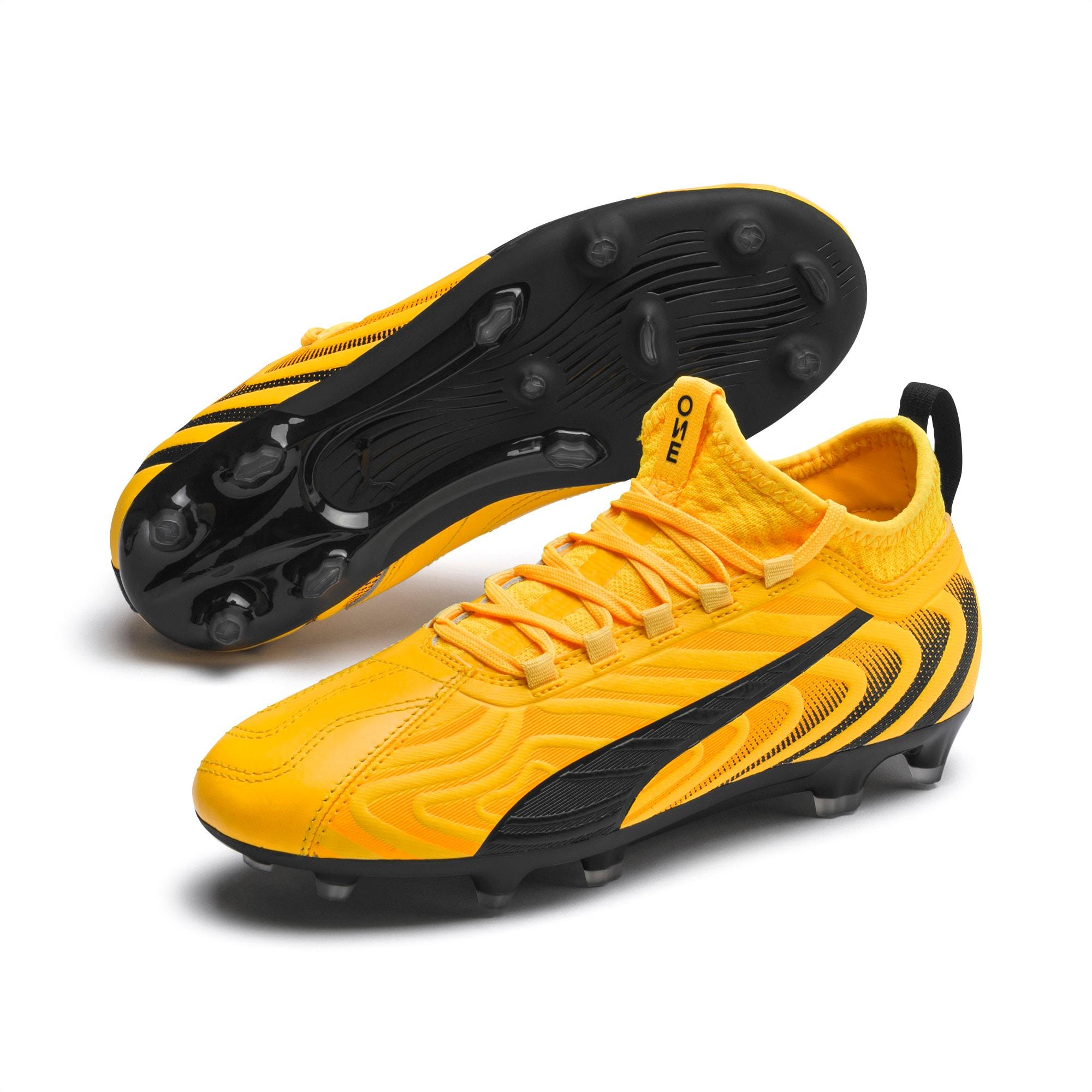 PUMA ONE 20.3 FG/AG Soccer Cleats JR