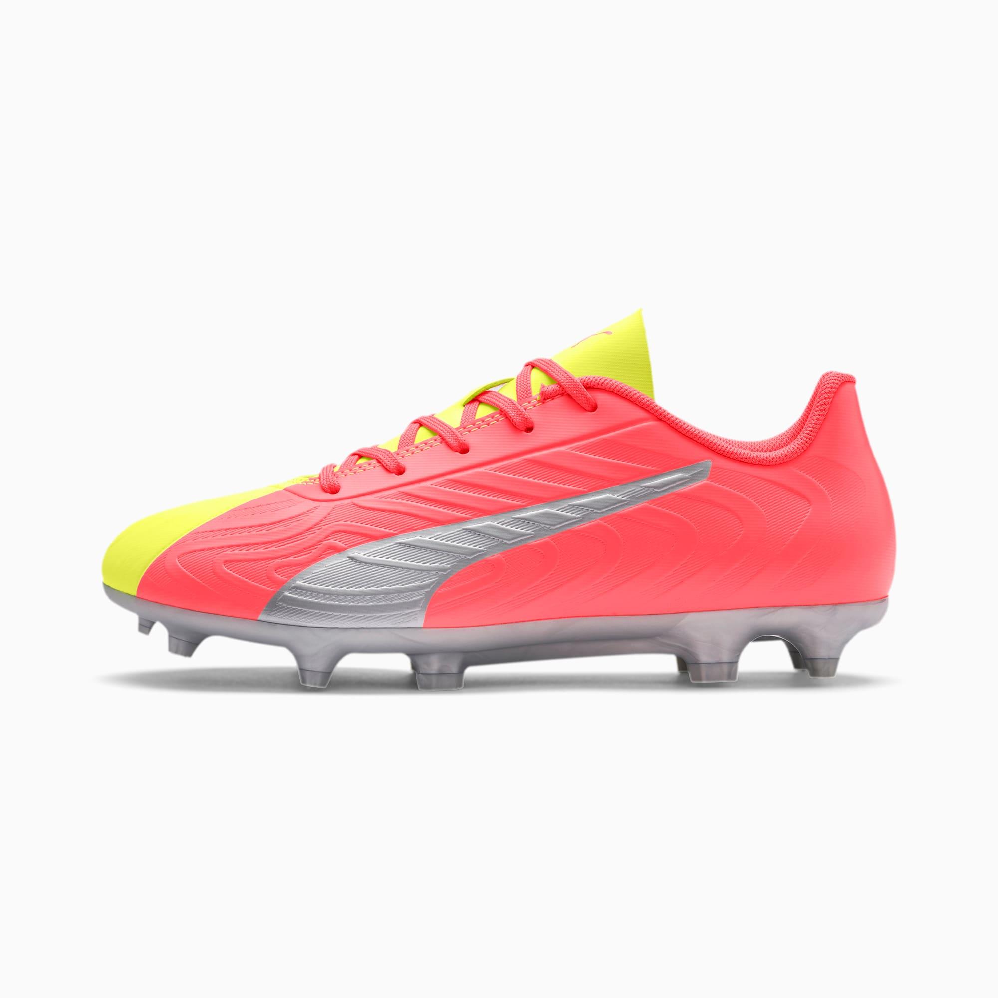 PUMA ONE 20.4 FG/AG Soccer Cleats JR