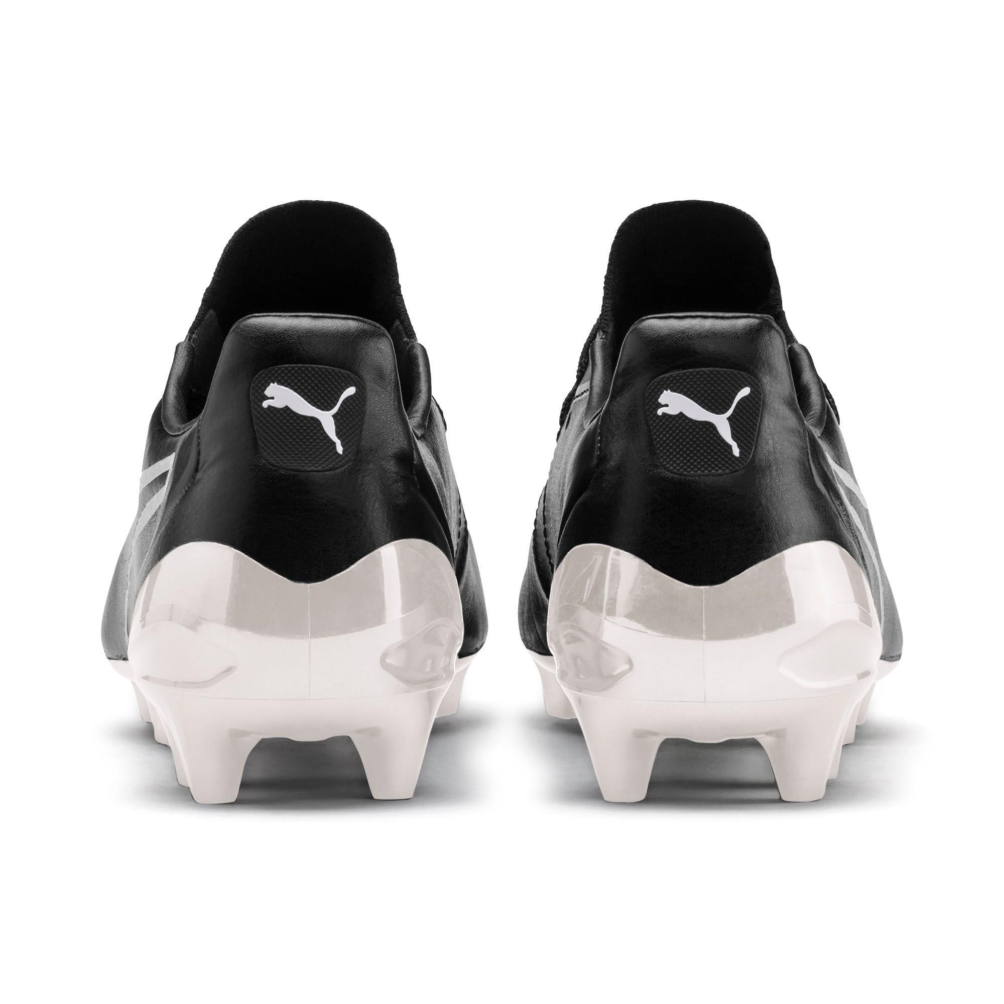 Thumbnail 3 of KING Platinum Lukaku Limited Edition Men's Football Boots, Puma Black-Puma White, medium