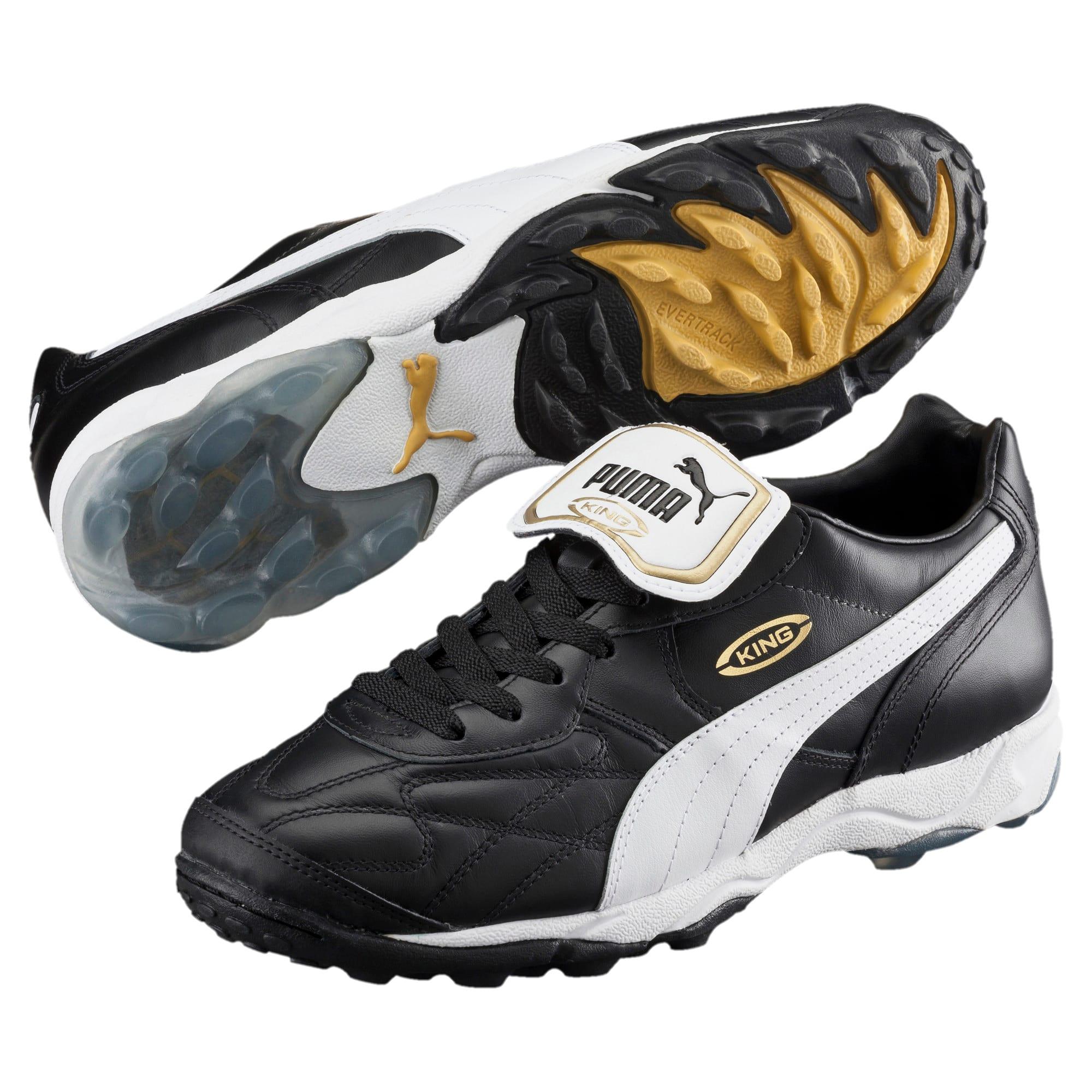 Thumbnail 2 of King Allround TT Men's Soccer Shoes, black-white-team gold, medium