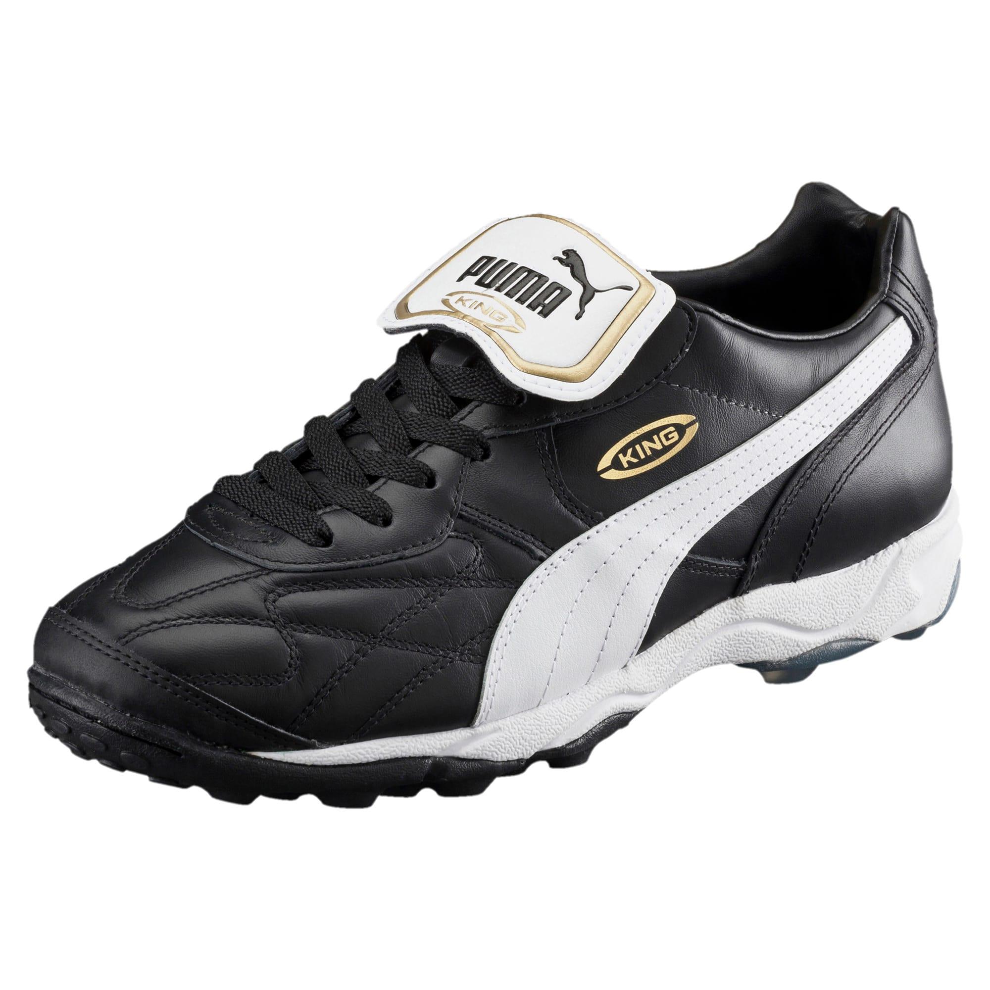 Thumbnail 1 of King Allround TT Men's Soccer Shoes, black-white-team gold, medium