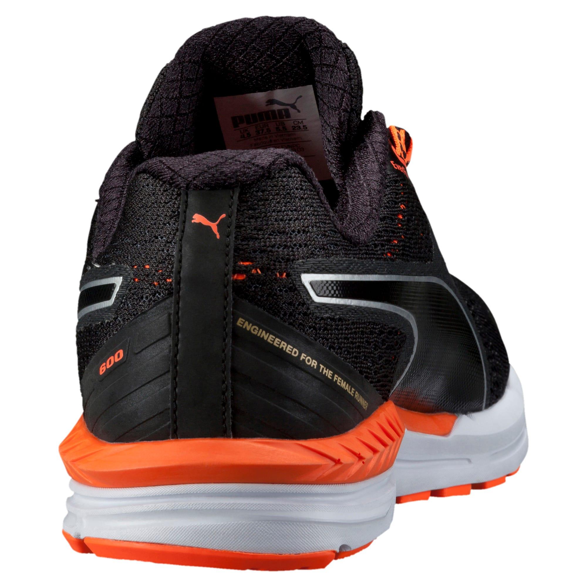Thumbnail 4 of Speed 600 IGNITE Women's Running Shoes, black-periscope-fluo peach, medium-IND