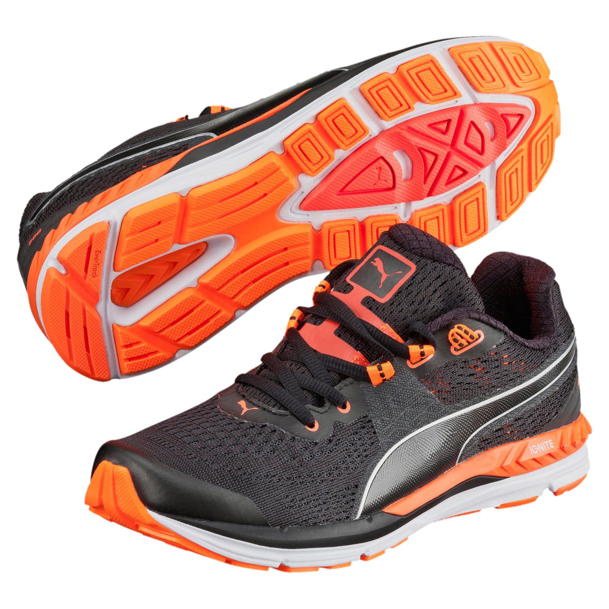 Thumbnail 2 of Speed 600 IGNITE Women's Running Shoes, black-periscope-fluo peach, medium-IND