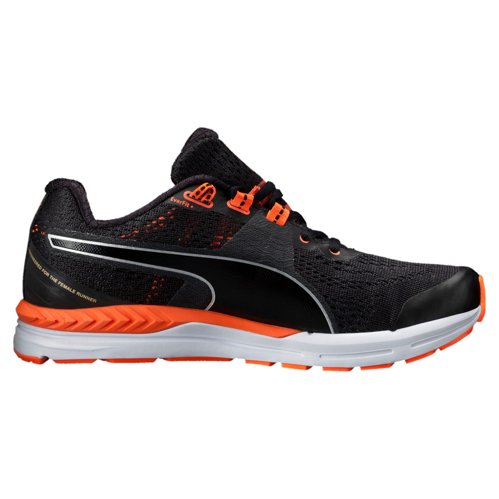 Thumbnail 3 of Speed 600 IGNITE Women's Running Shoes, black-periscope-fluo peach, medium-IND