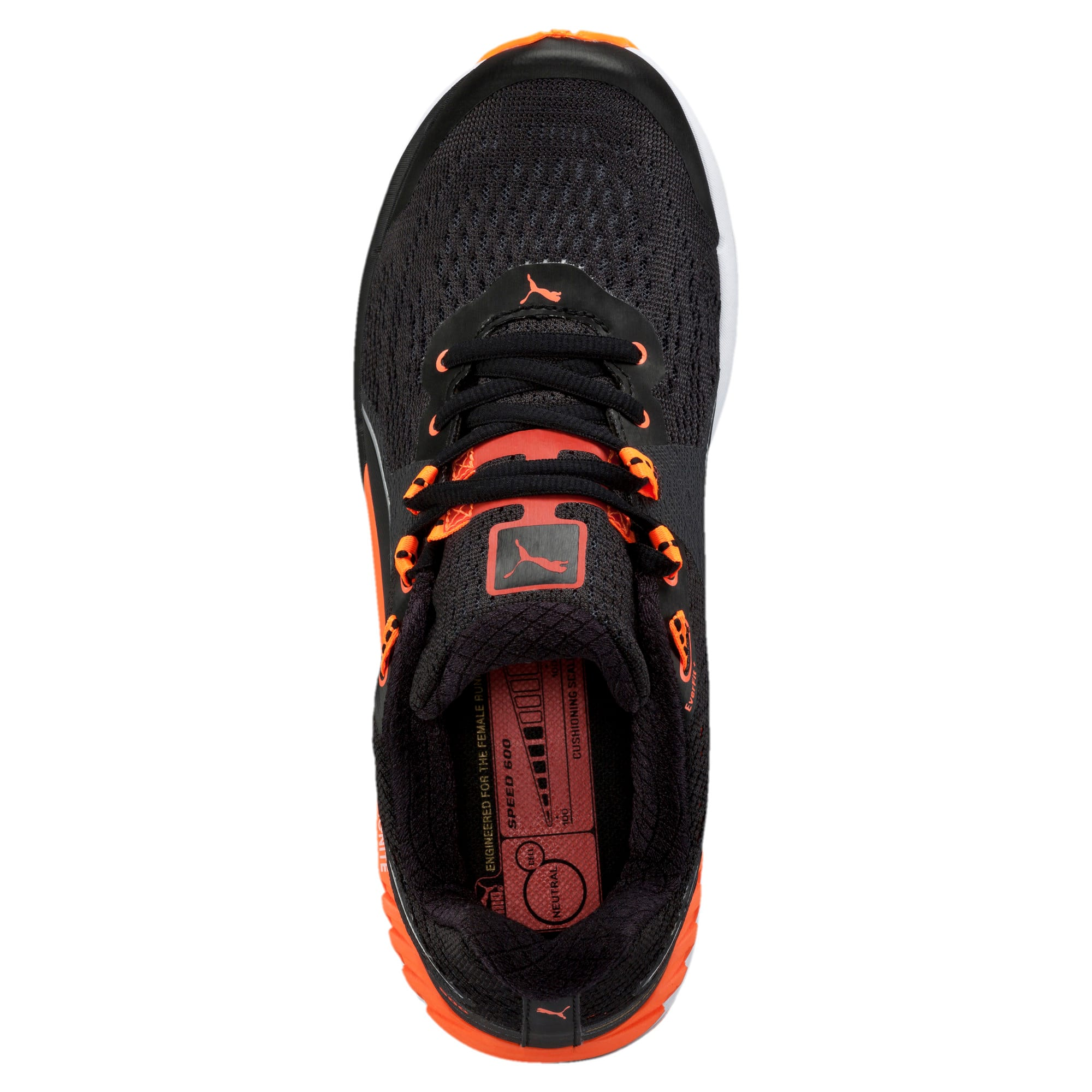 Thumbnail 5 of Speed 600 IGNITE Women's Running Shoes, black-periscope-fluo peach, medium-IND