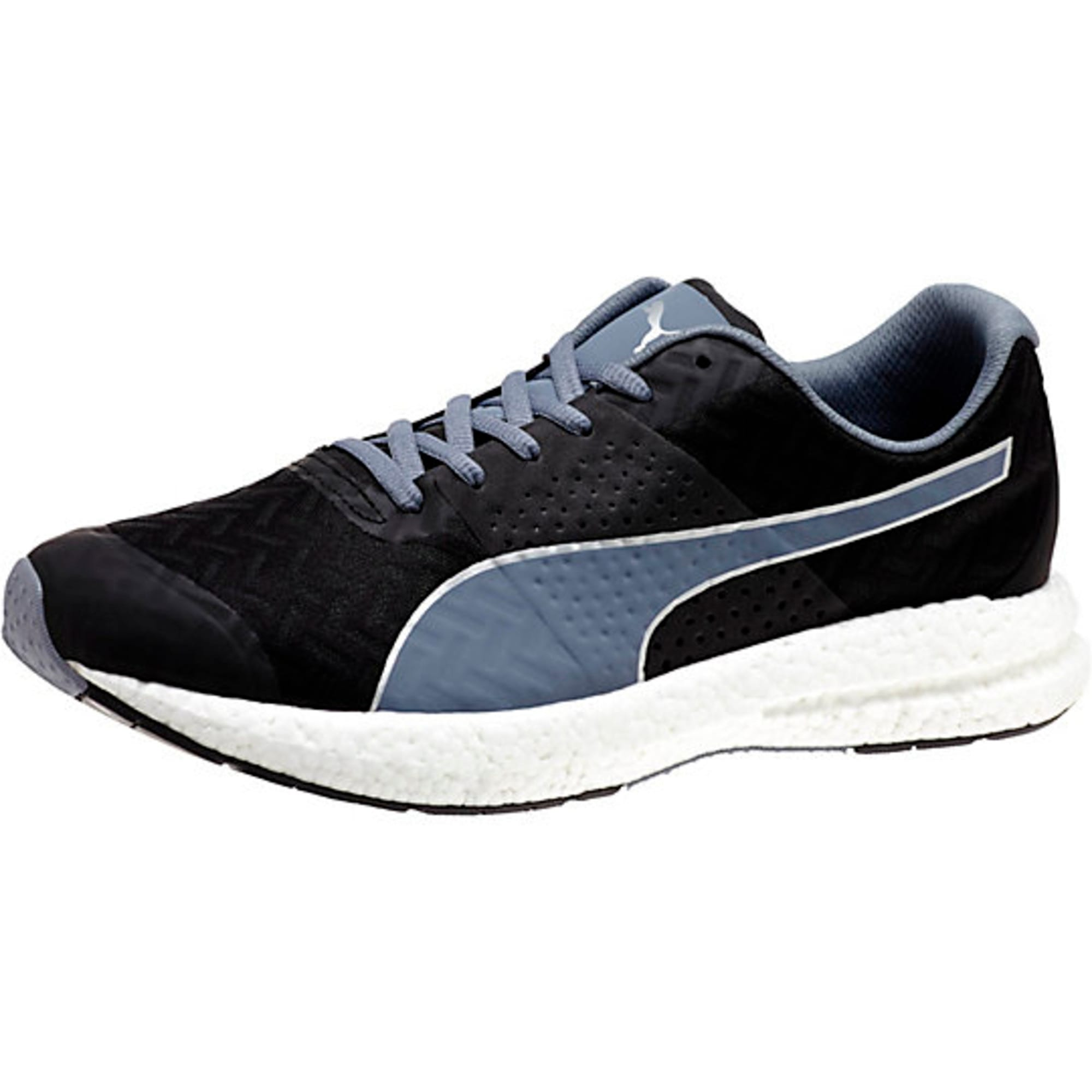 Thumbnail 1 of NRGY Running Shoes, black-folkstone gray, medium-IND