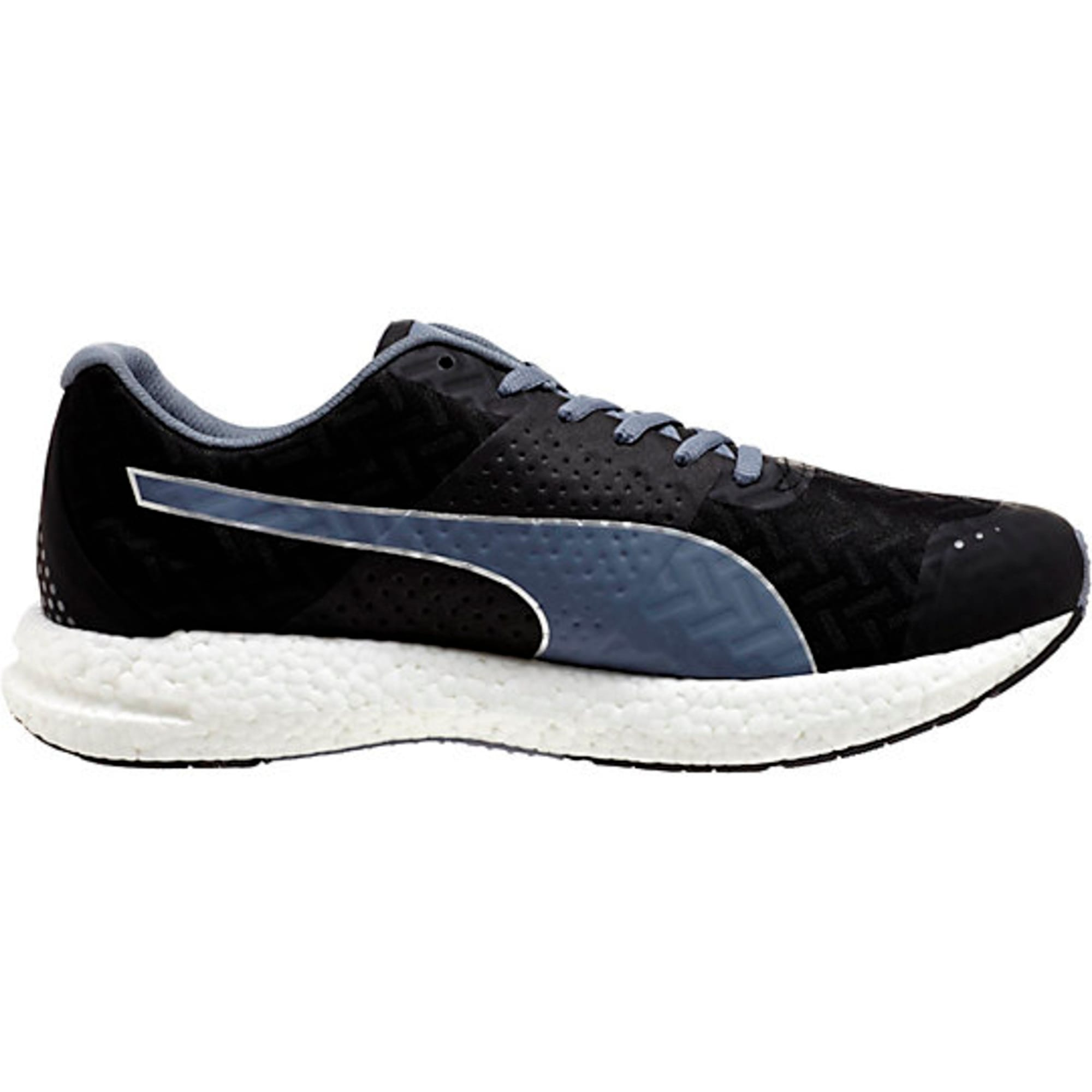 Thumbnail 4 of NRGY Running Shoes, black-folkstone gray, medium-IND