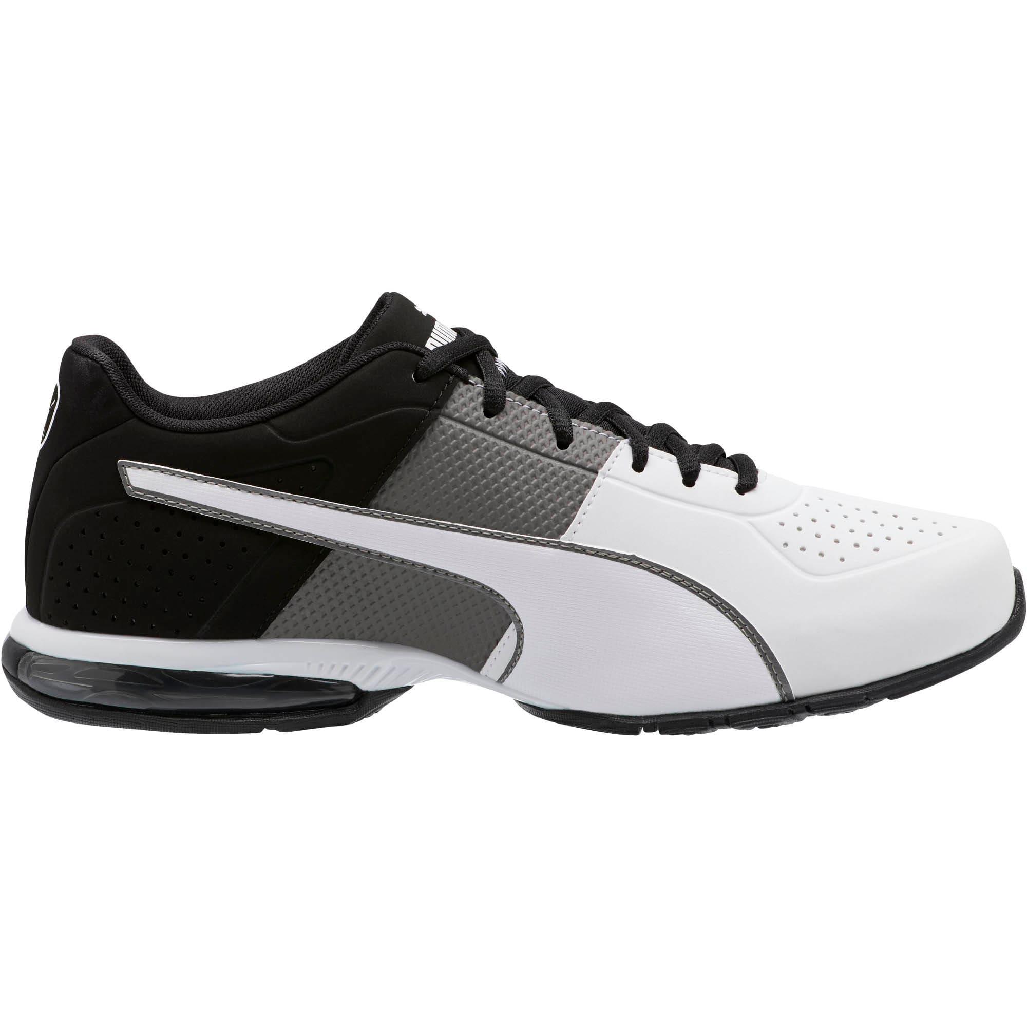 Thumbnail 4 of CELL Surin 2 Matte Men's Training Shoes, Charcoal Gray-Puma White, medium