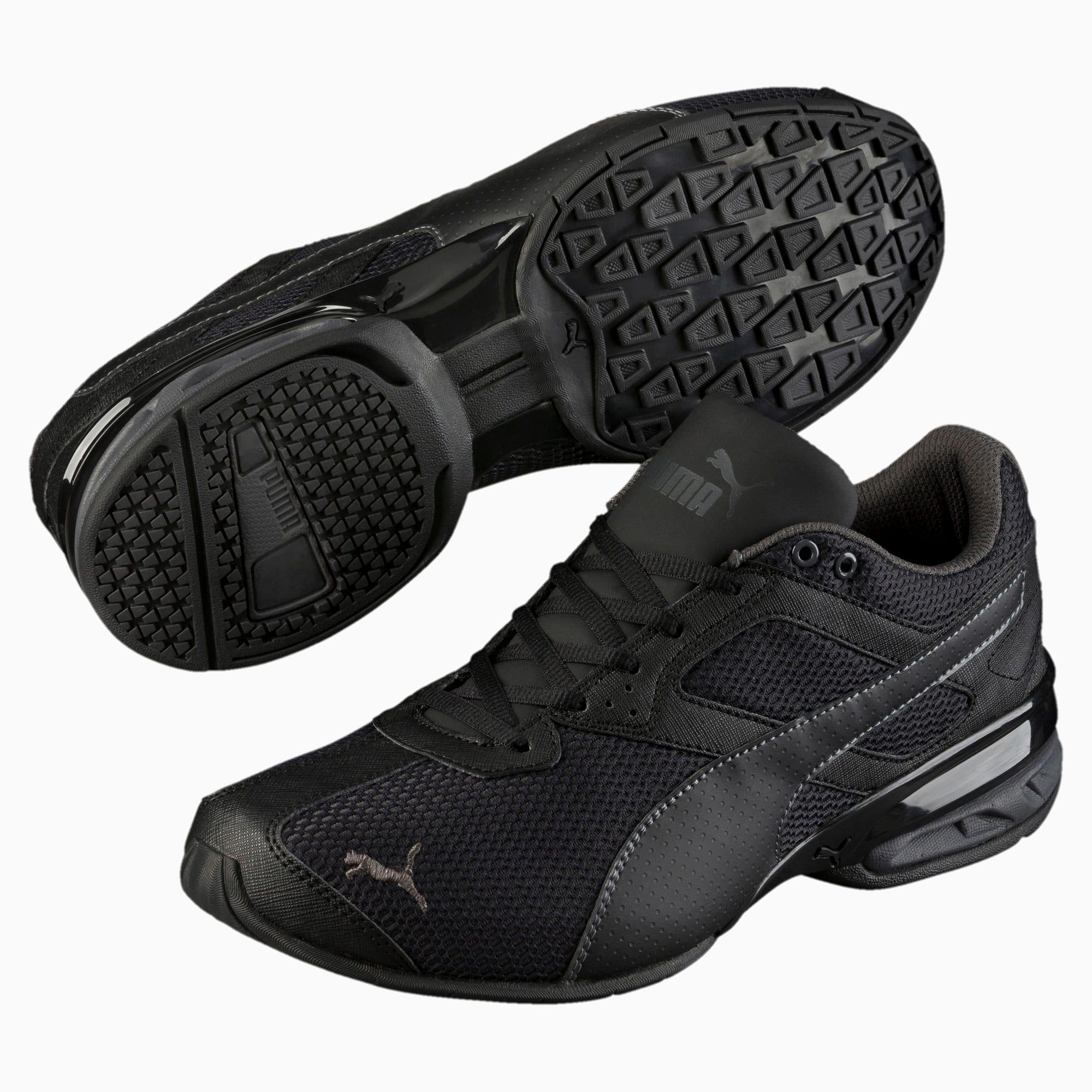 Tazon 6 Mesh Herren Sneaker   Puma Black Asphalt   PUMA