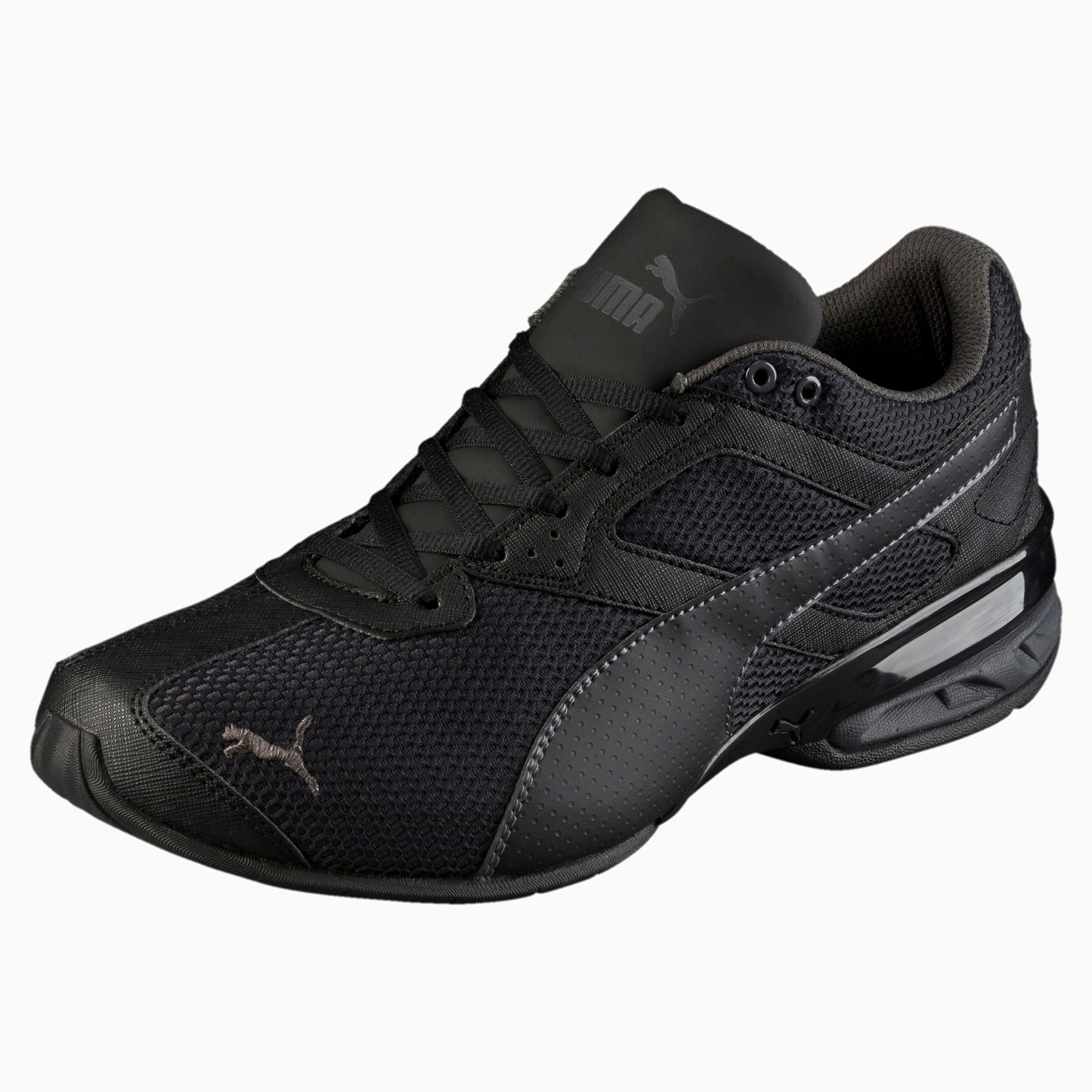 Tazon 6 Mesh Herren Sneaker | Puma Black-Asphalt | PUMA Shoes