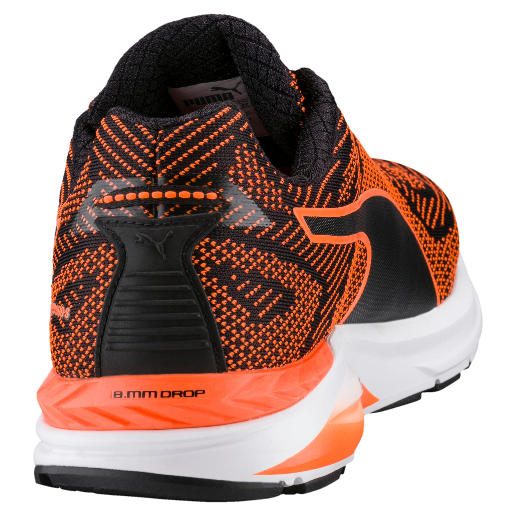 Thumbnail 3 of Speed 600 S IGNITE Men's Running Shoes, Puma Black-Shocking Orange, medium-IND
