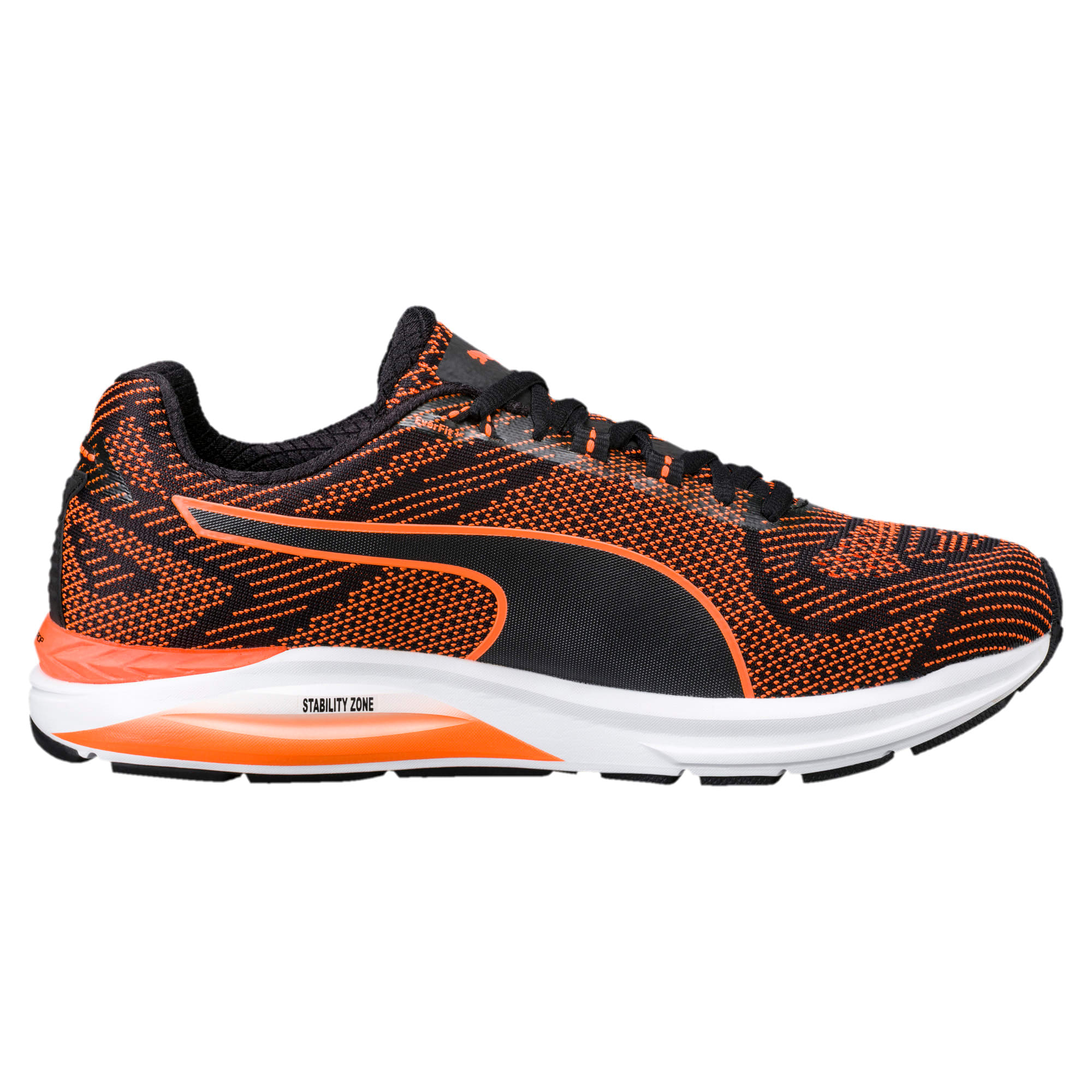 Thumbnail 4 of Speed 600 S IGNITE Men's Running Shoes, Puma Black-Shocking Orange, medium-IND