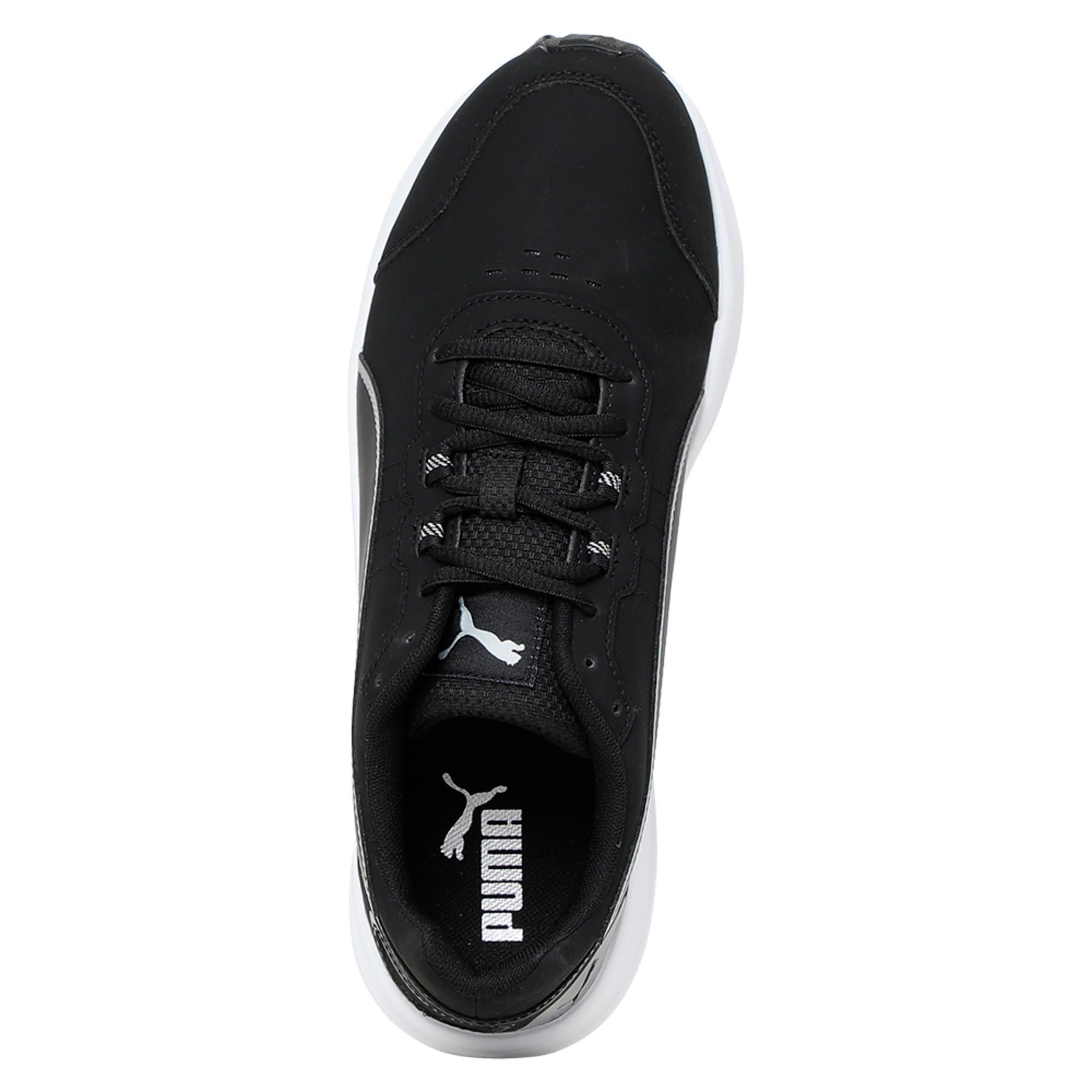 Thumbnail 3 of Descendant v4 SL Running Shoes, Puma Black-Puma Silver, medium-IND