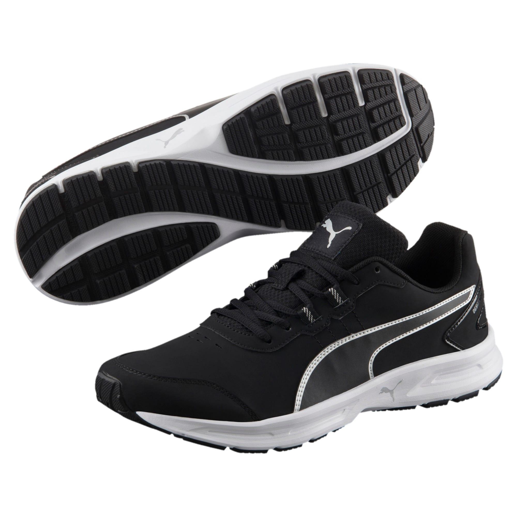 Thumbnail 2 of Descendant v4 SL Running Shoes, Puma Black-Puma Silver, medium-IND