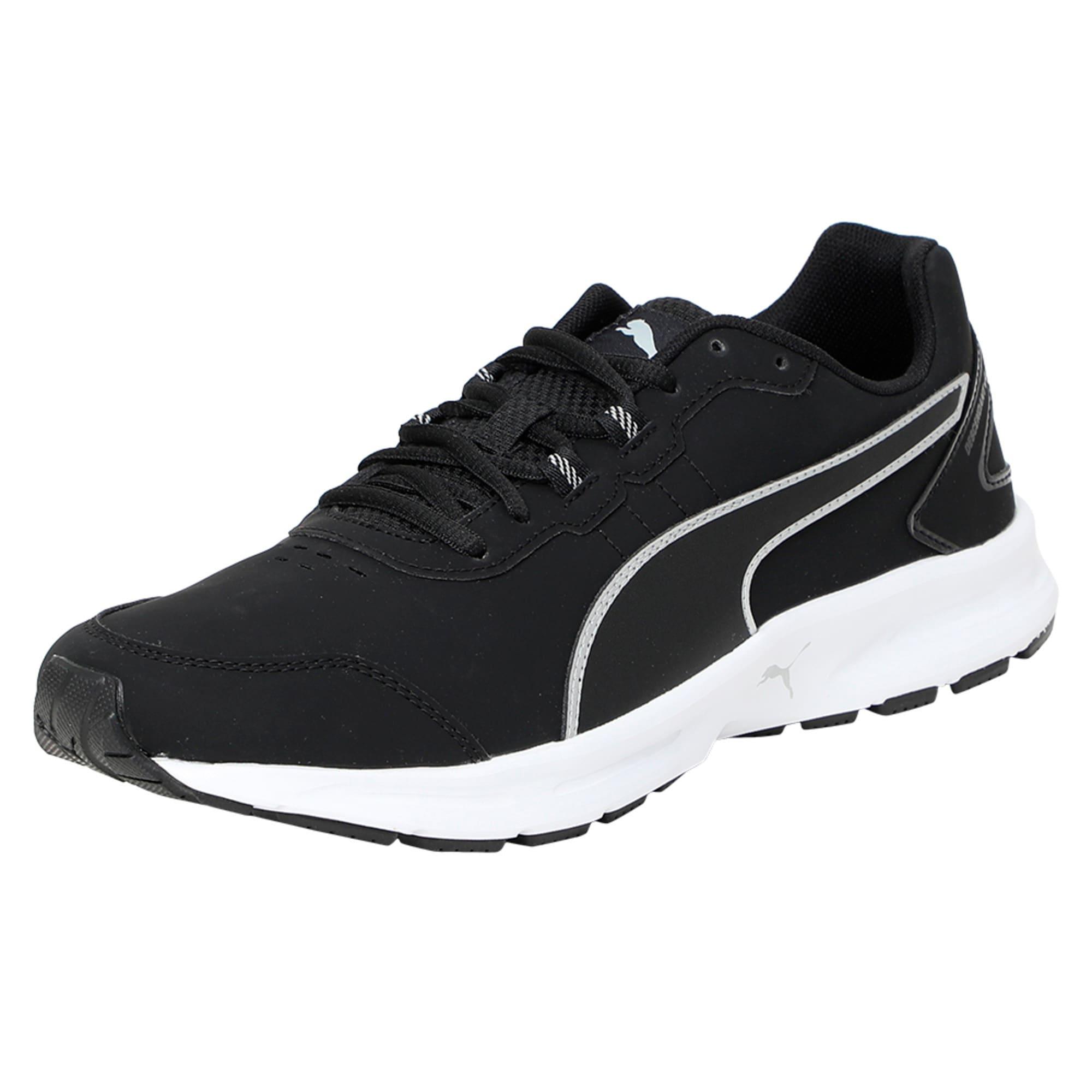 Thumbnail 1 of Descendant v4 SL Running Shoes, Puma Black-Puma Silver, medium-IND