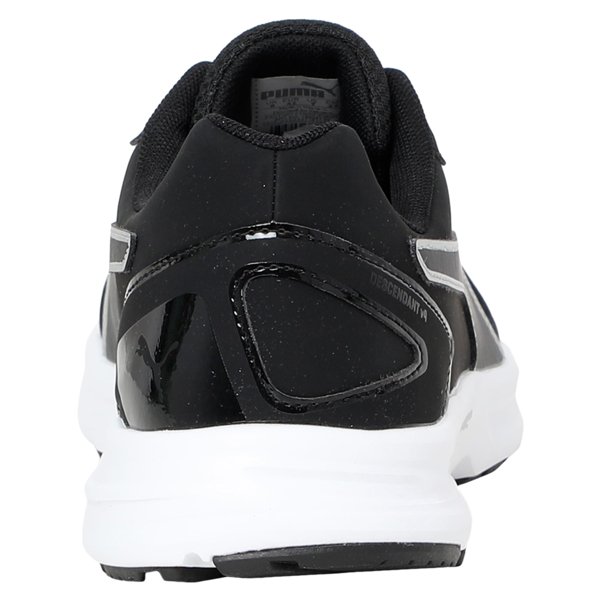 Thumbnail 4 of Descendant v4 SL Running Shoes, Puma Black-Puma Silver, medium-IND