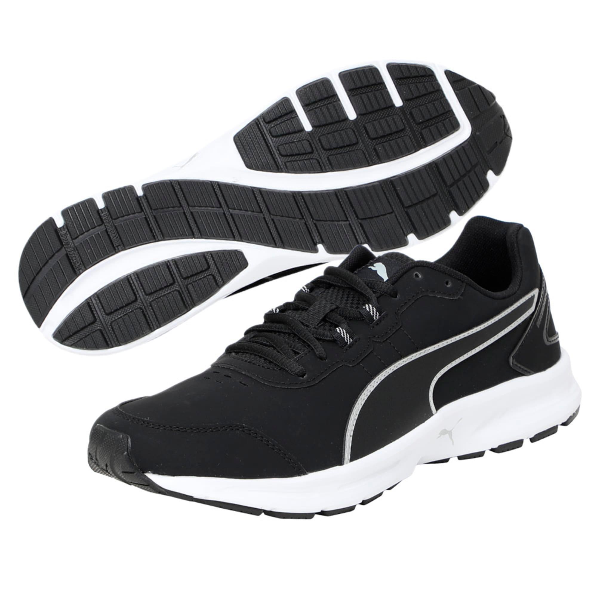 Thumbnail 5 of Descendant v4 SL Running Shoes, Puma Black-Puma Silver, medium-IND