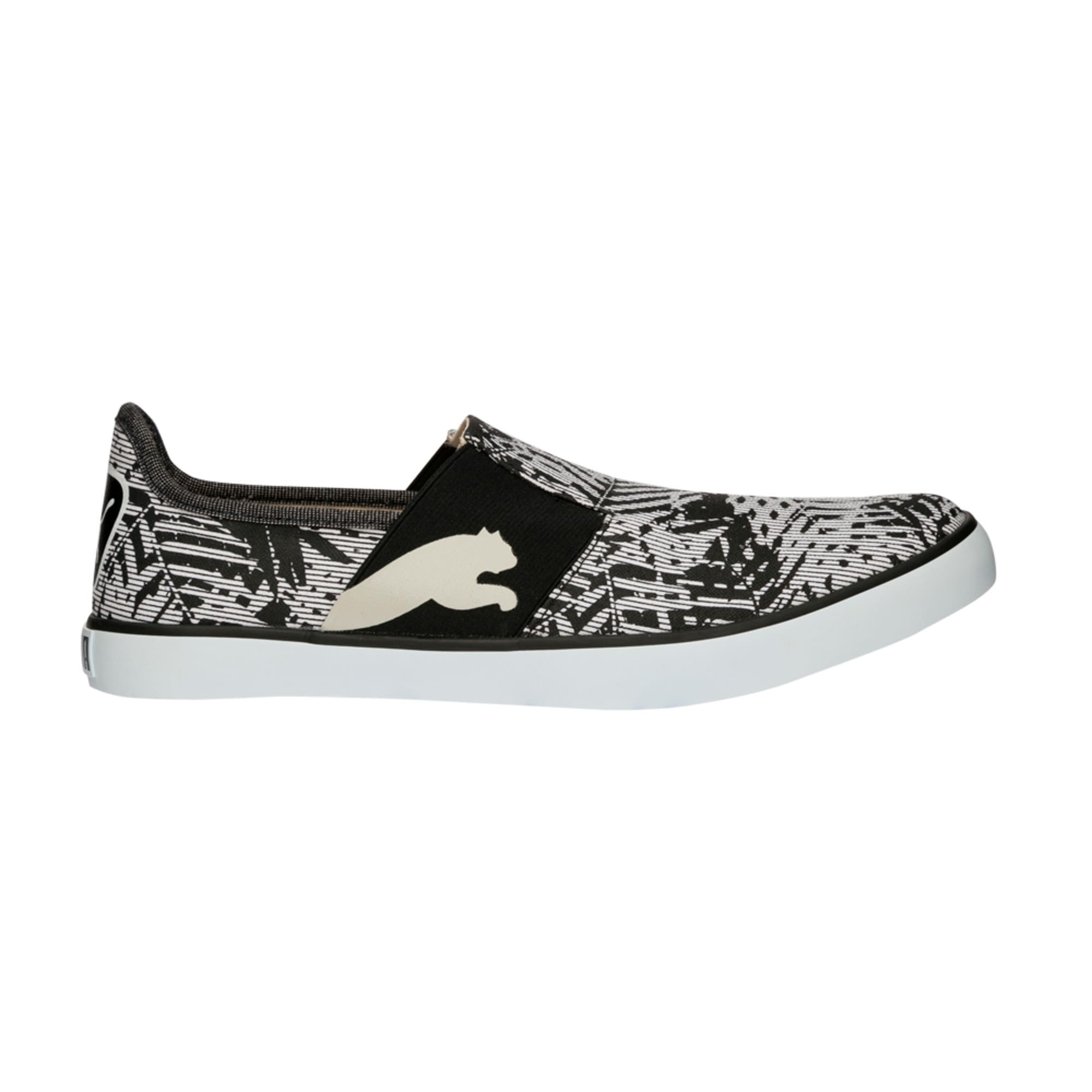 Thumbnail 2 of Lazy Slip On Graphic DP, Black-Gray Violet-White, medium-IND
